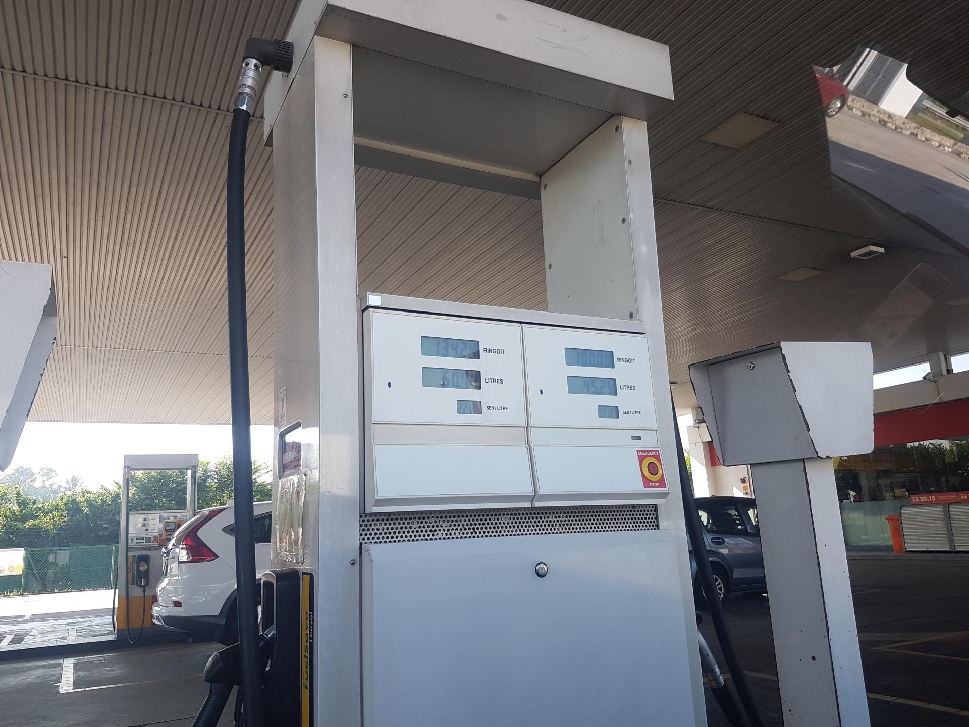 Бензин в Малайзии