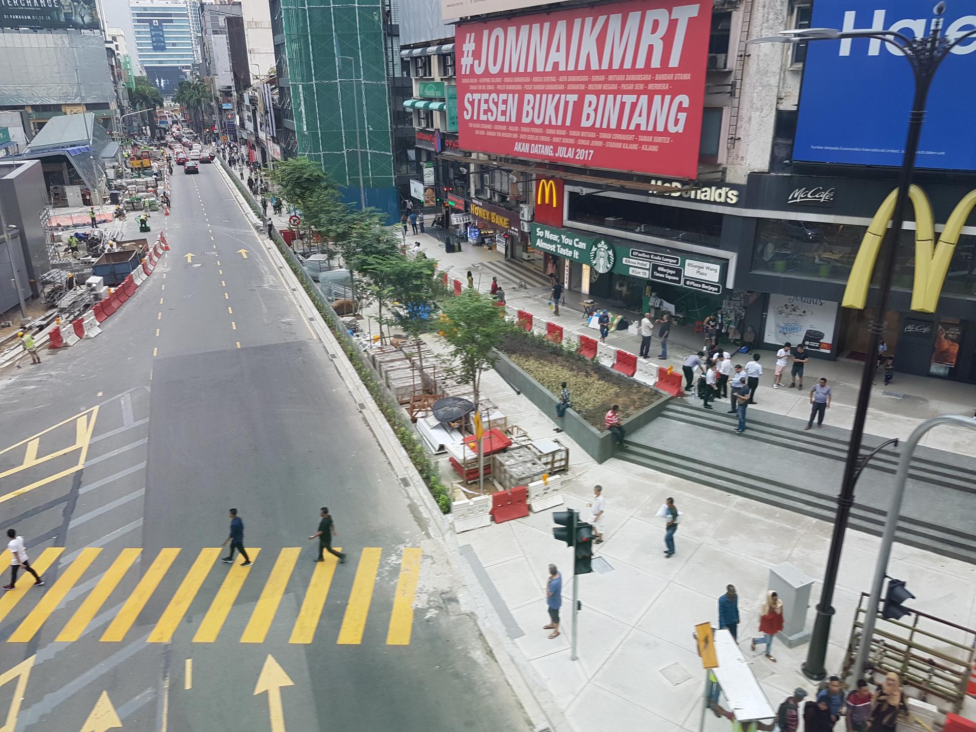 Улицы Куала-Лумпура