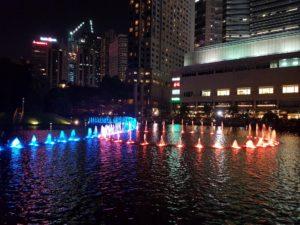 Шоу фонтанов Куала-Лумпур