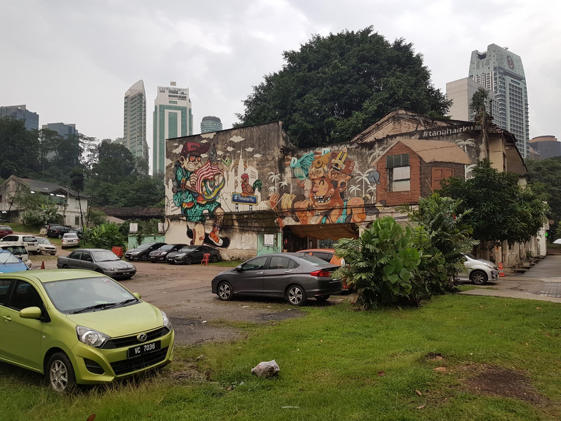 Графити Куала-Лумпур