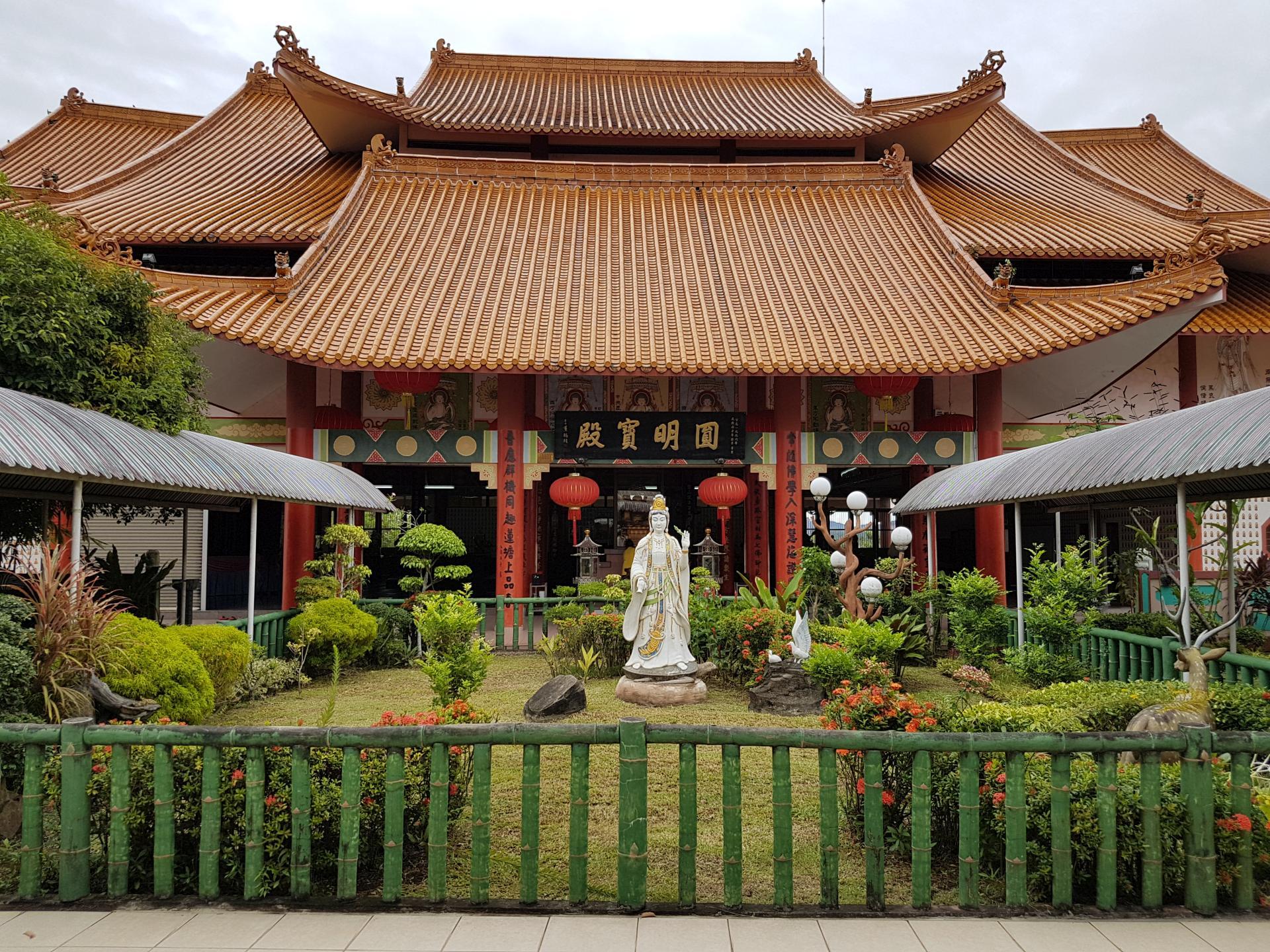 Буддийский храм Кота Кинабалу