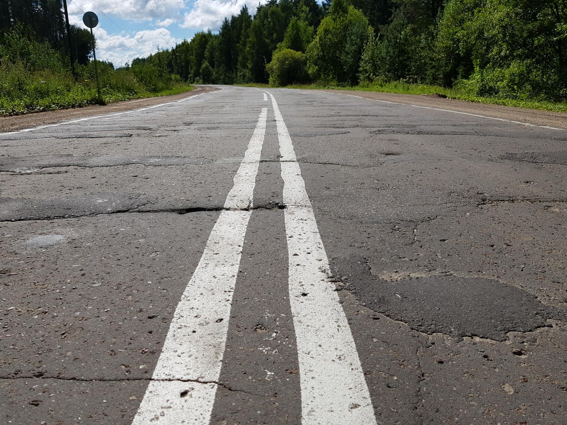 Дорога на Лебяжье