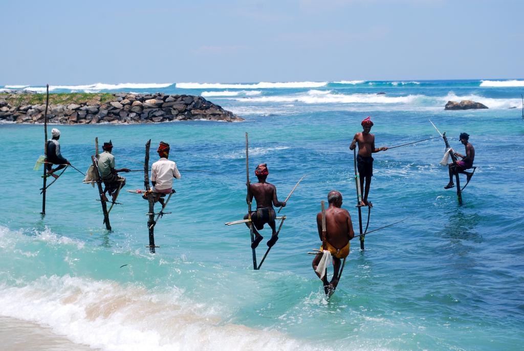 Шри-Ланка рыбаки
