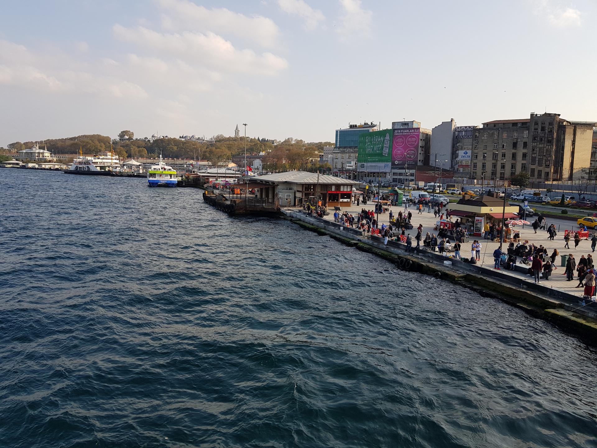 Набережная Стамбула