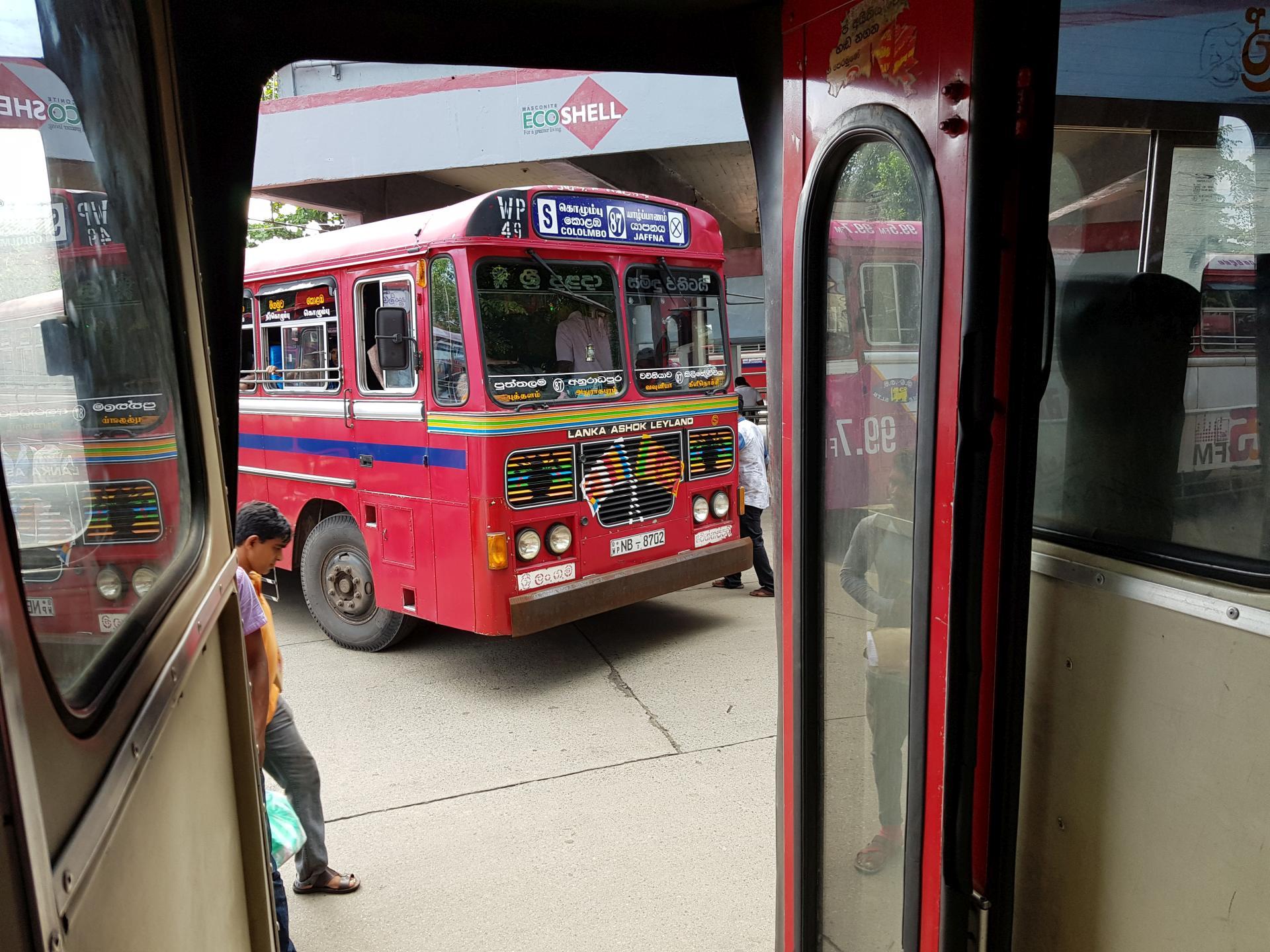 Автобус Шри-Ланка