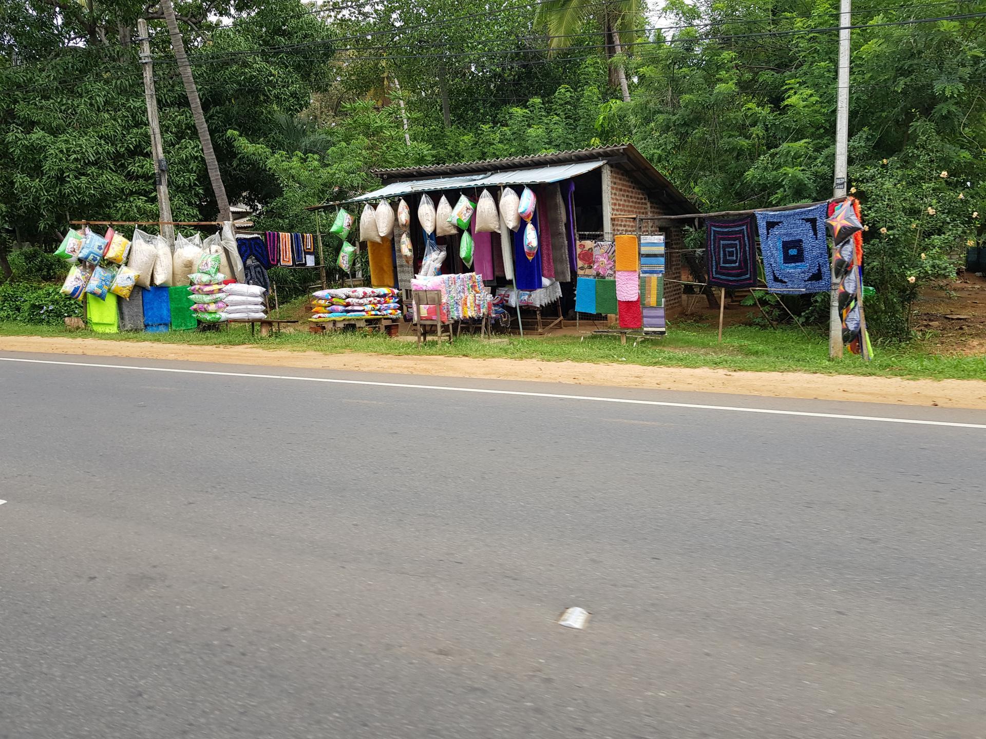 Придорожный магазин, Шри-Ланка