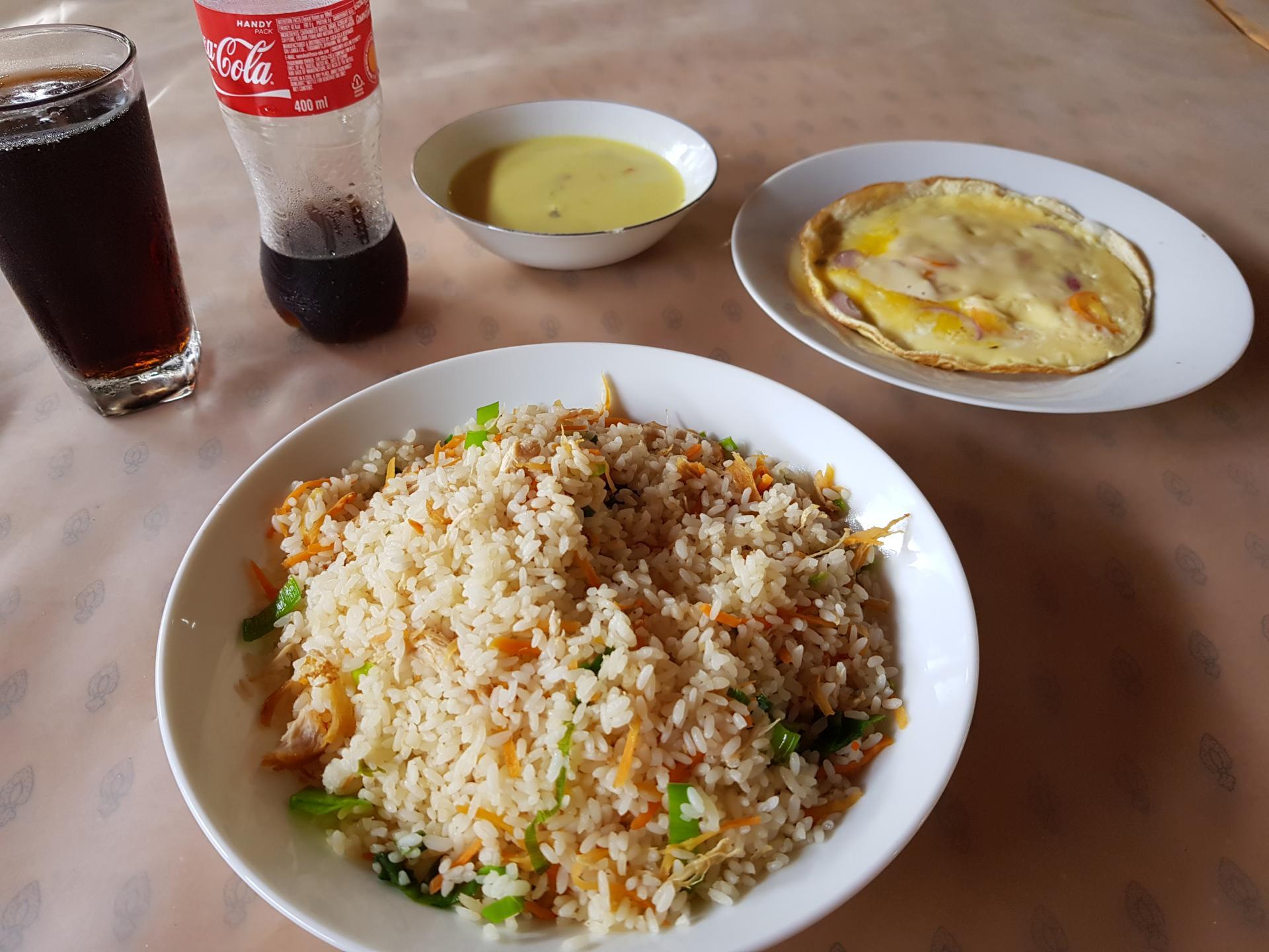 Обед в кафе, Шри-Ланка