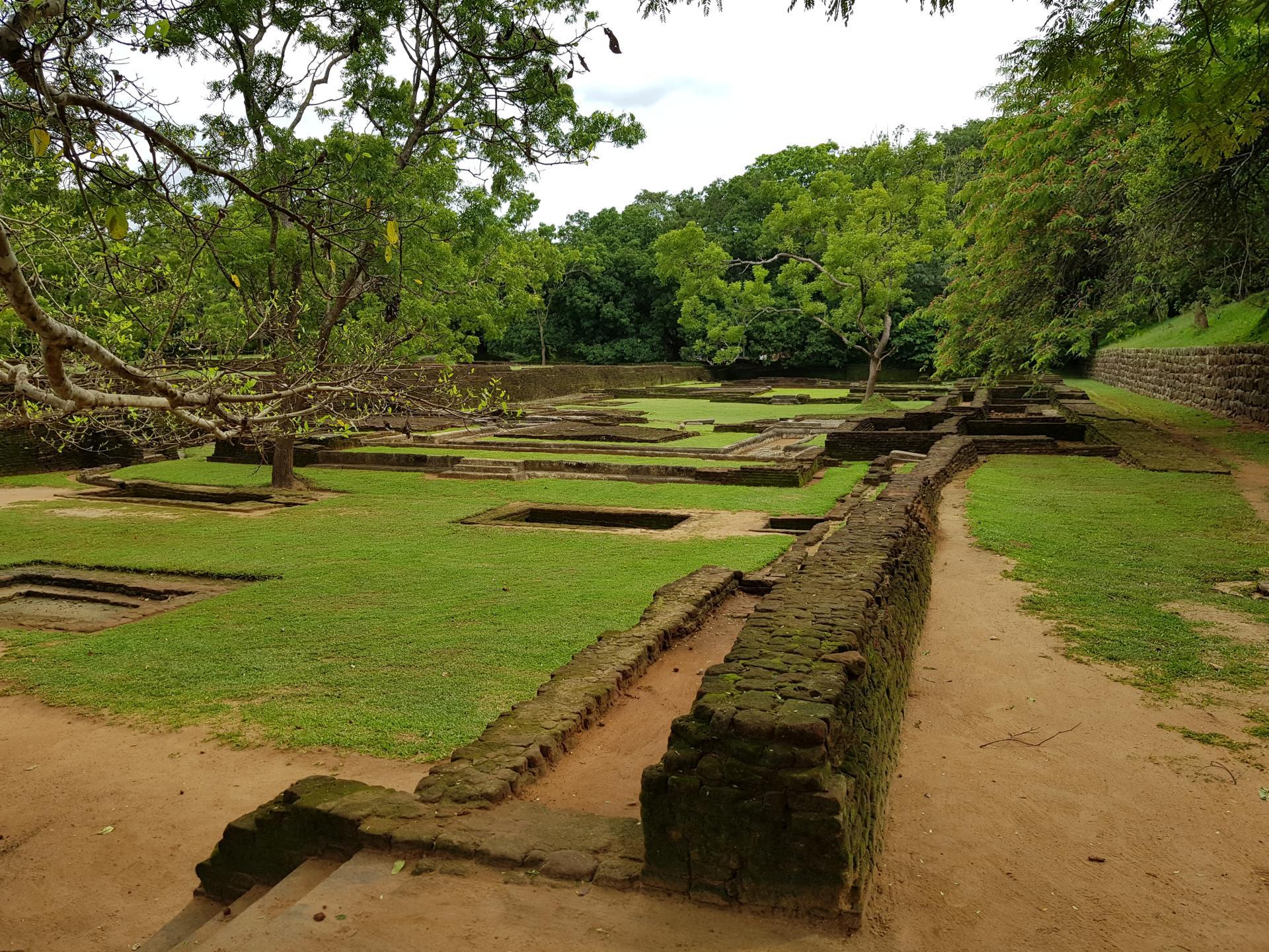 Виды в парке Сигирия, Шри-Ланка