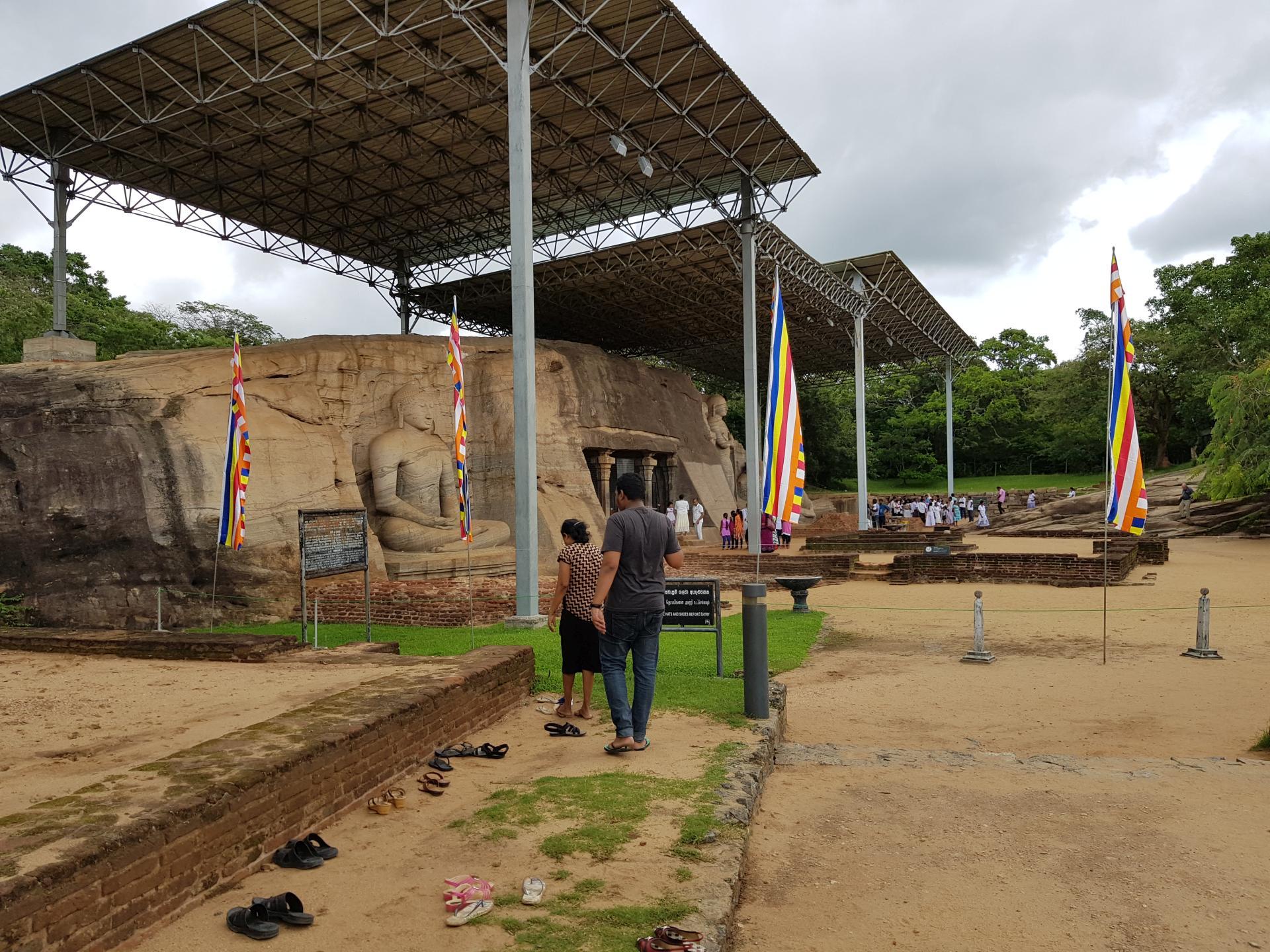 Гал-Вихара, Полоннарува, Шри-Ланка.