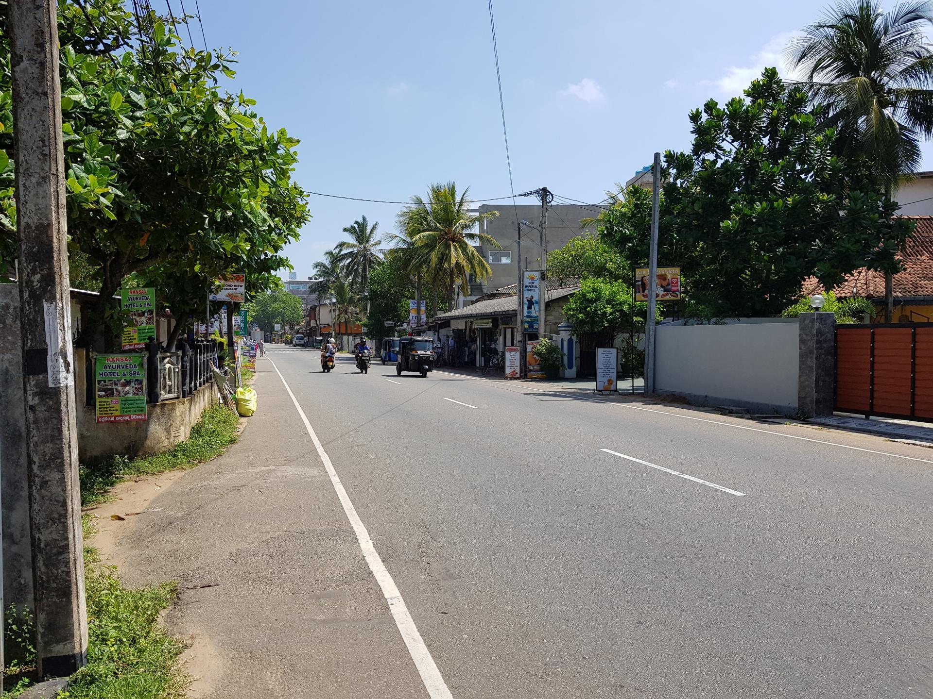 Улица в Хиккадуве, Шри-Ланка