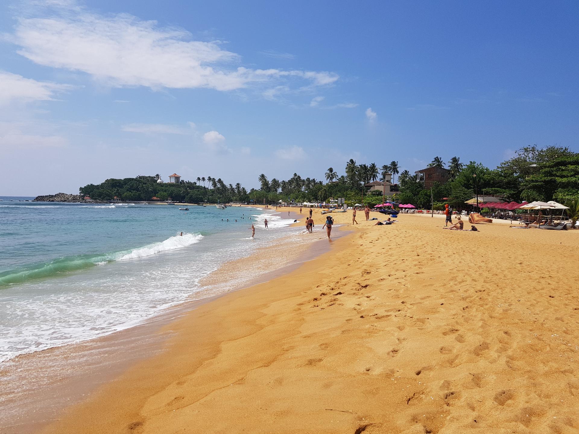 пляж Унаватуна, Шри-Ланка