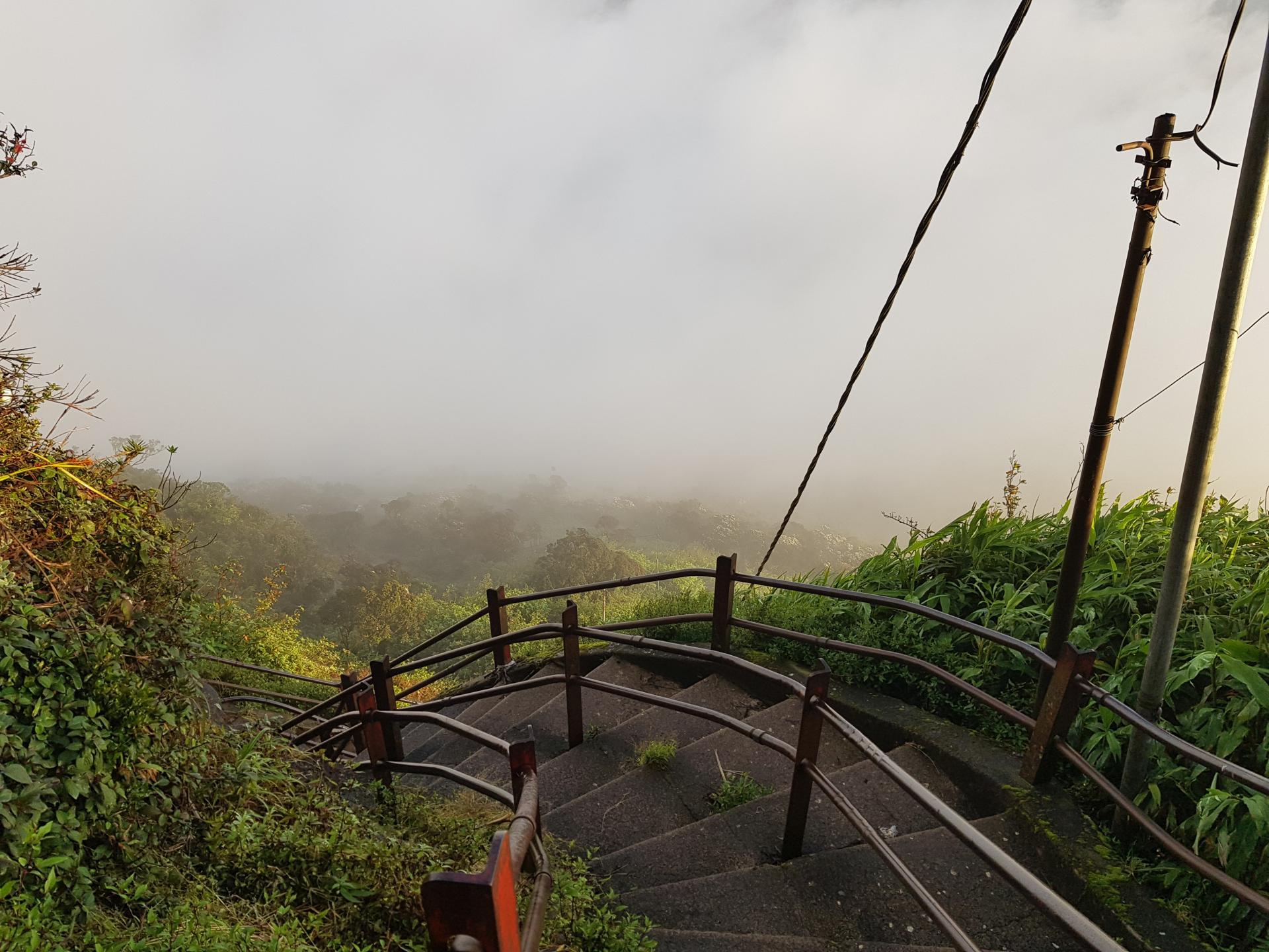 Лестница в облака. Пик Адама, Шри-Ланка.