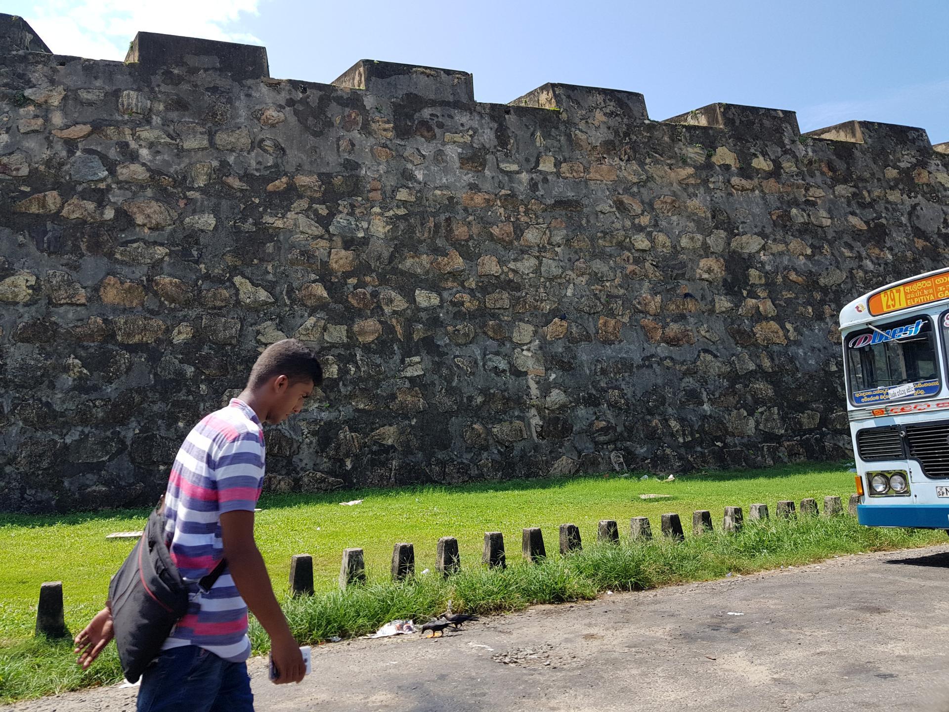 Стена форта Галле, Шри-Ланка