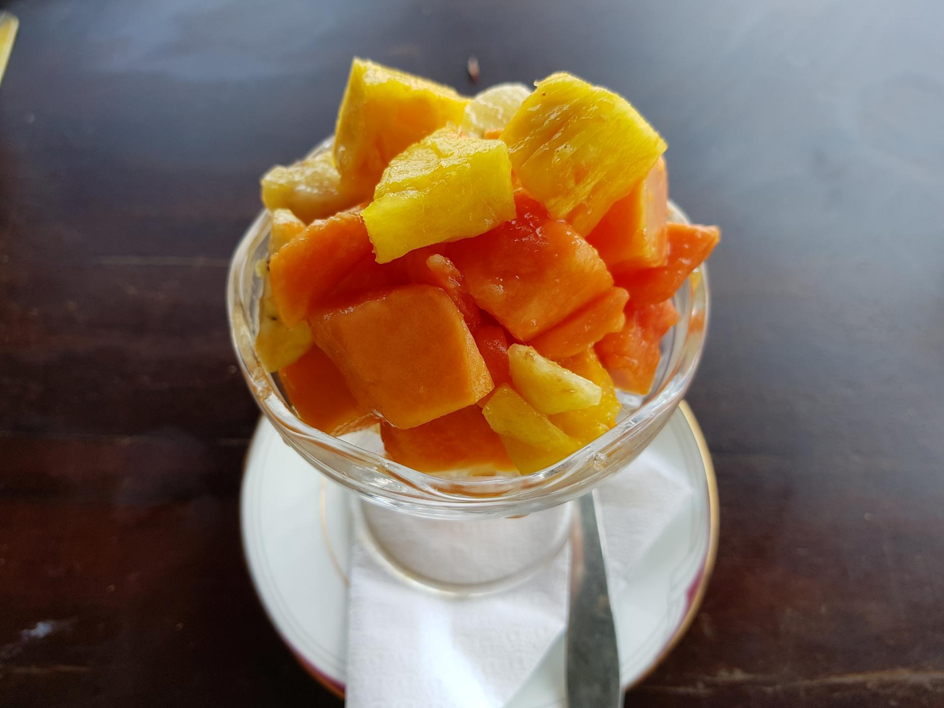 фруктовый салат в Шри-Ланке
