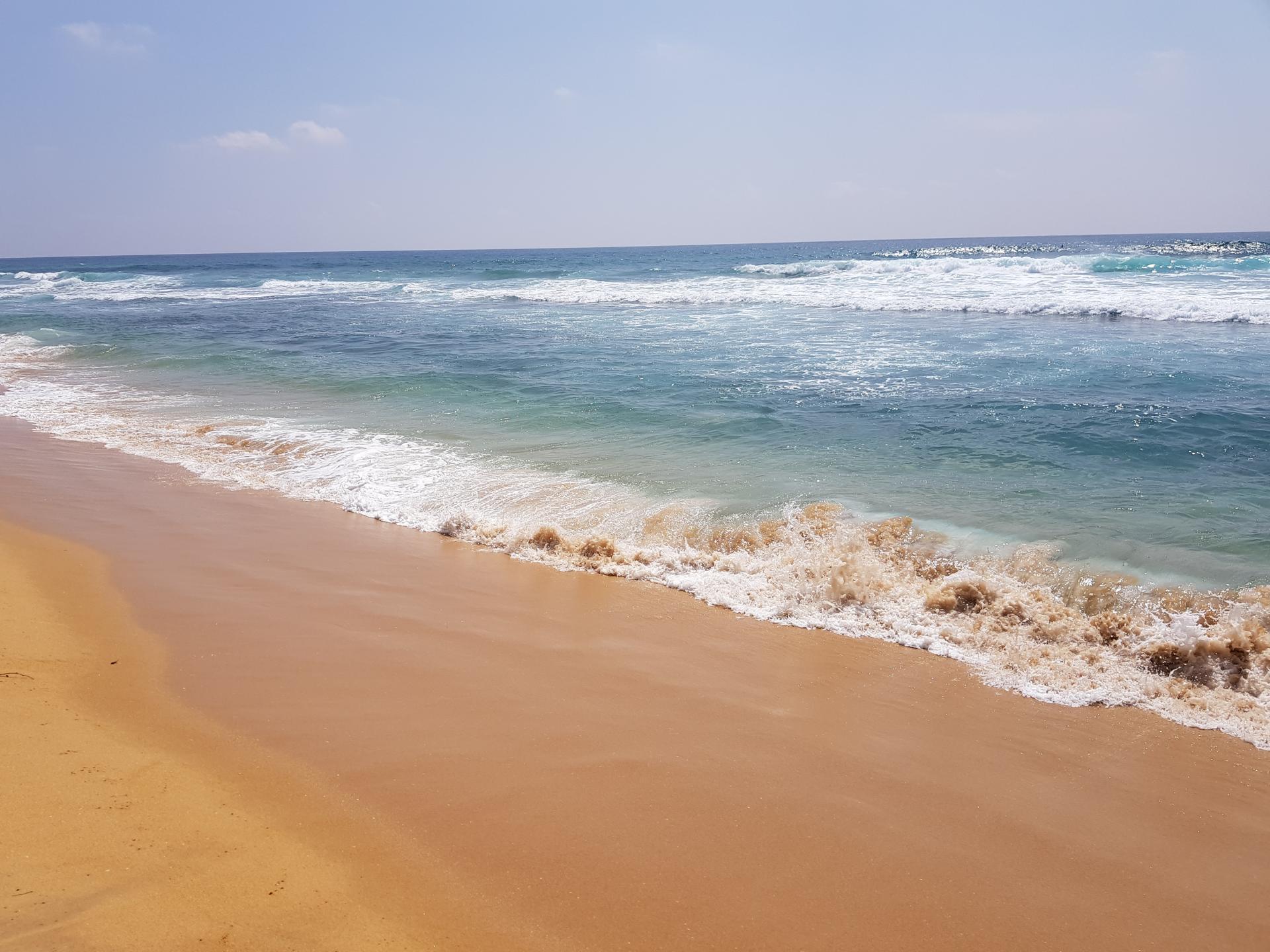 Индийский океан, Хиккадува, Шри-Ланка.