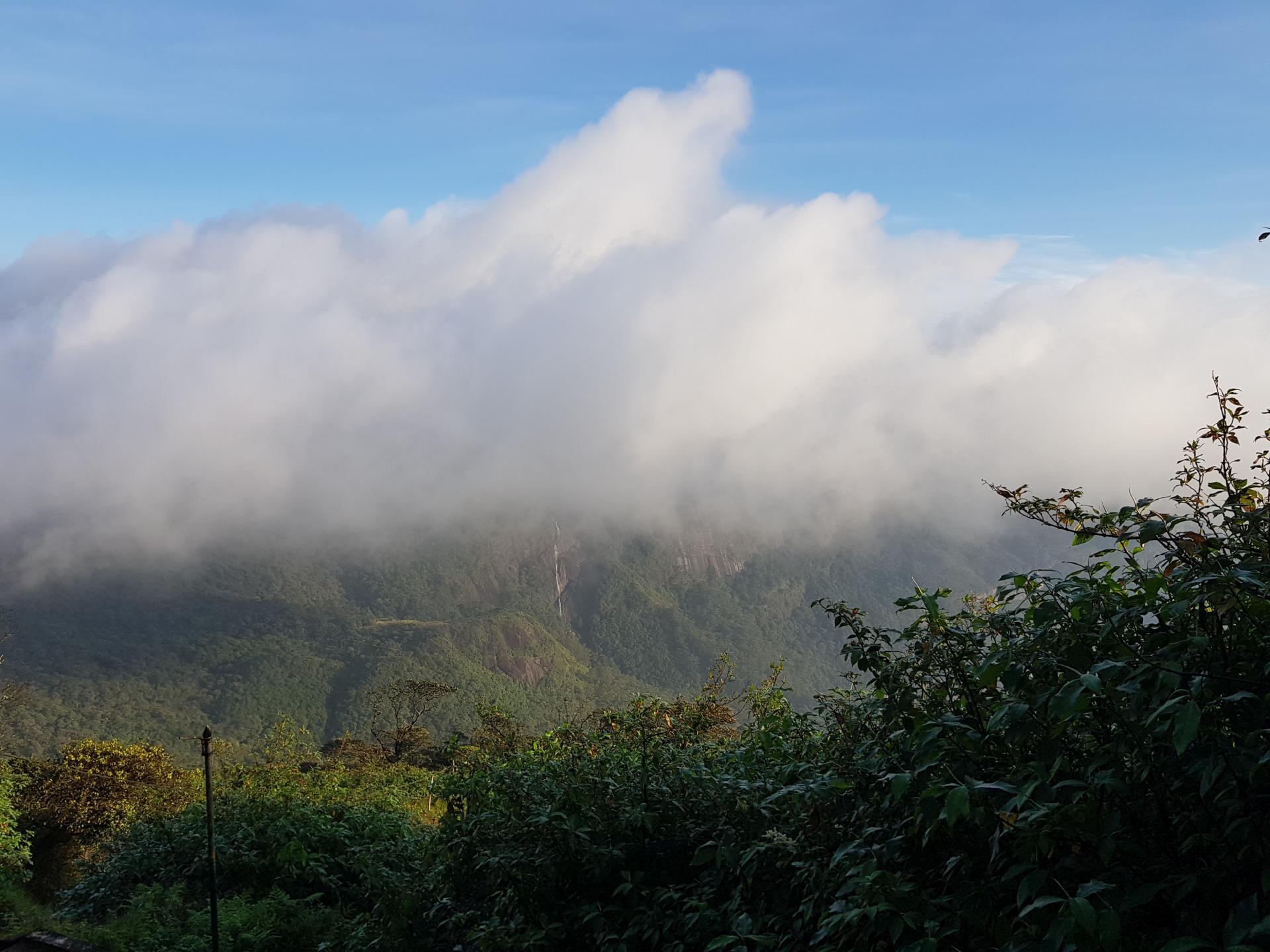 Горные водопады, Далхаузи, Шри-Ланка.