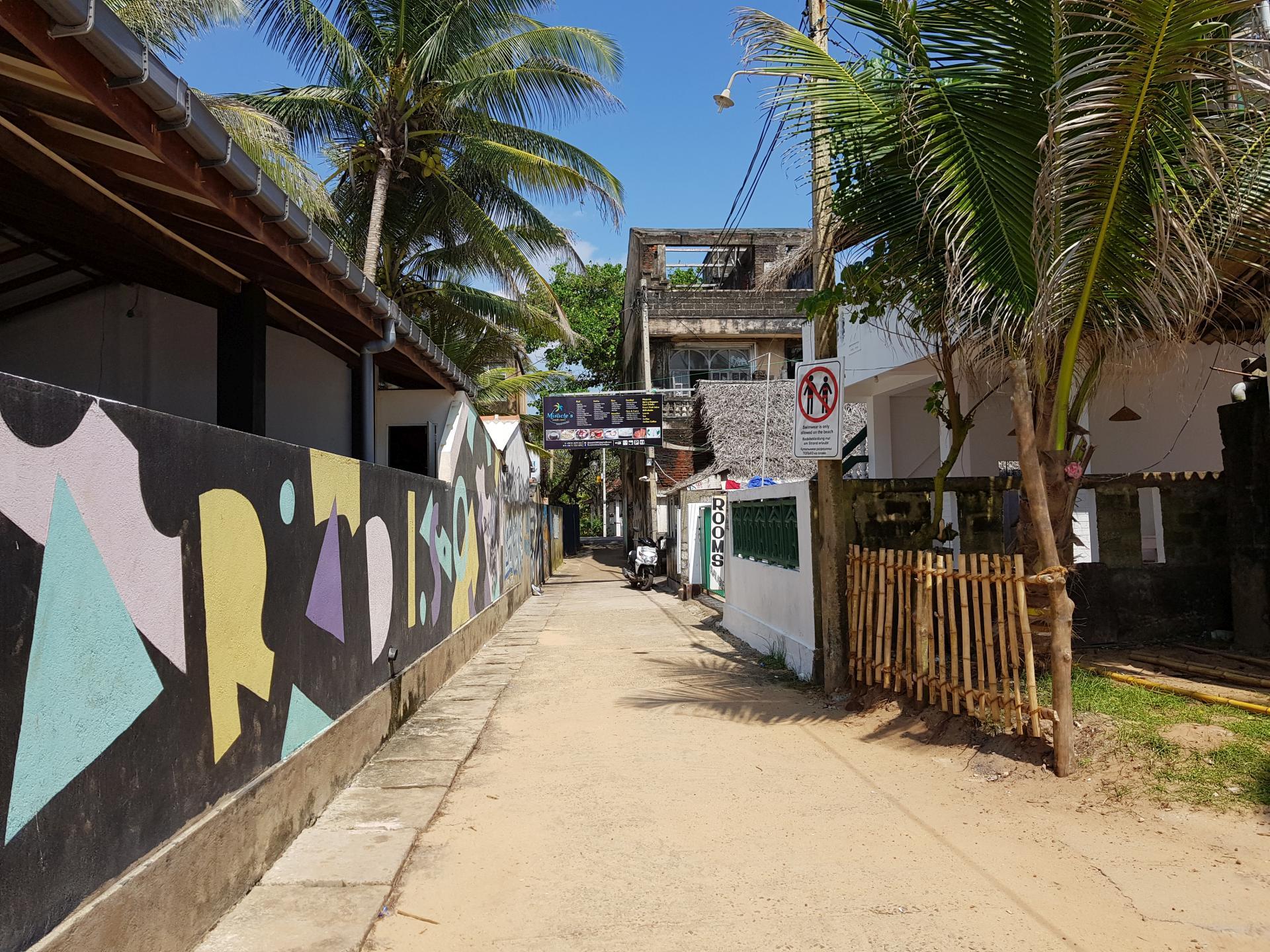 Хиккадува, Шри-Ланка.