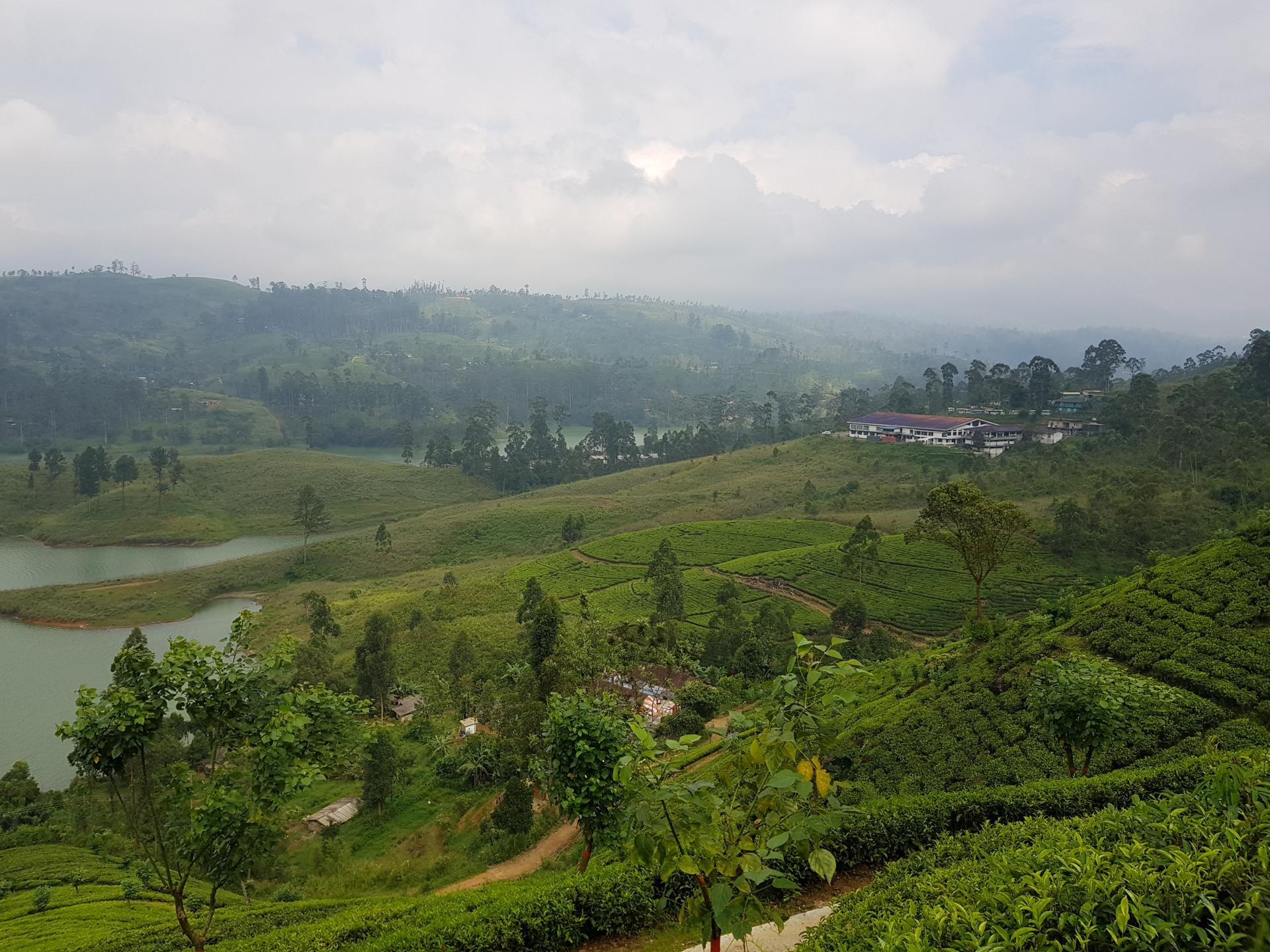 водохранилище Каслри, Хаттон, Шри-Ланка