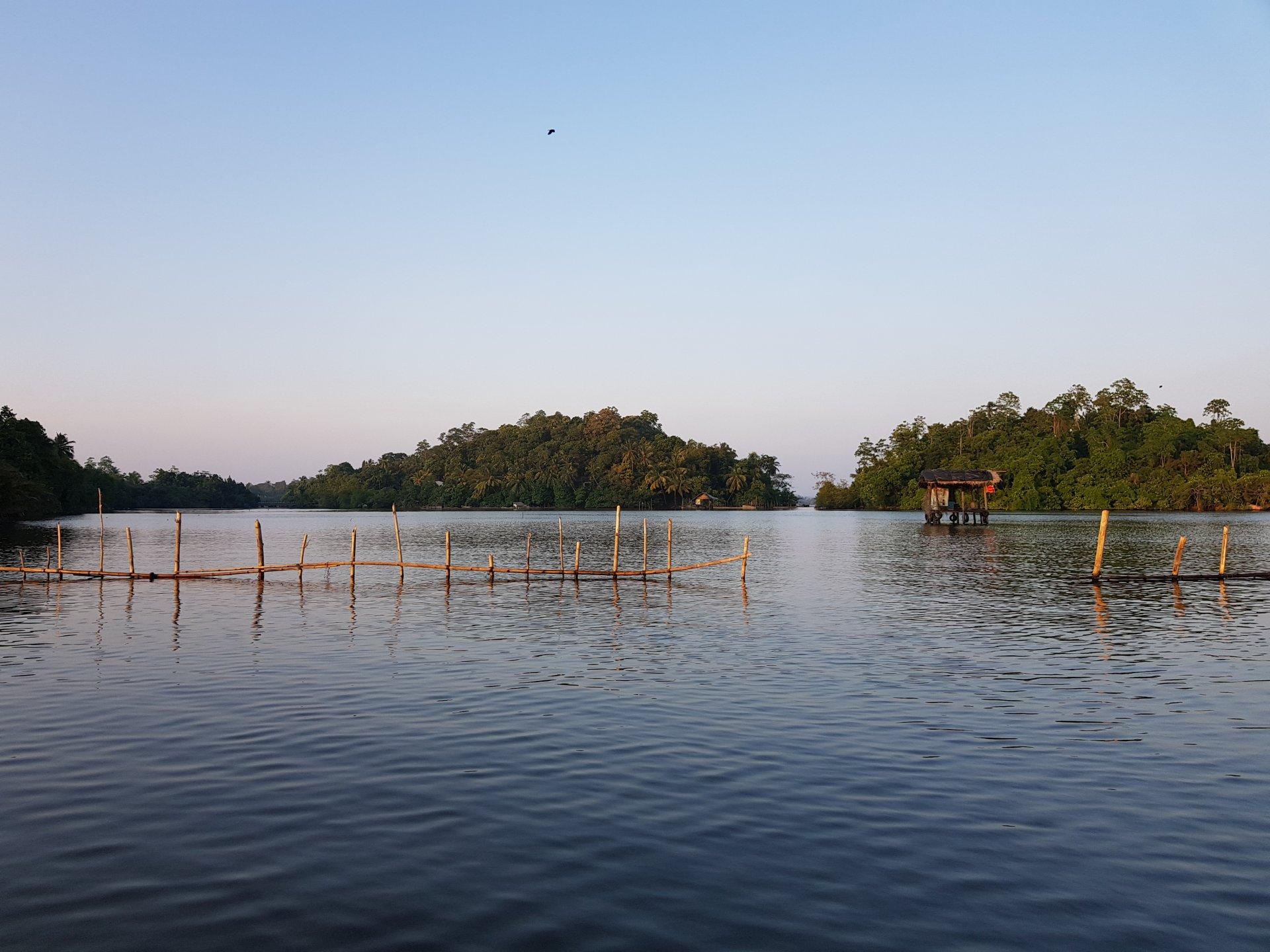 Хижина на воде, Шри-Ланка