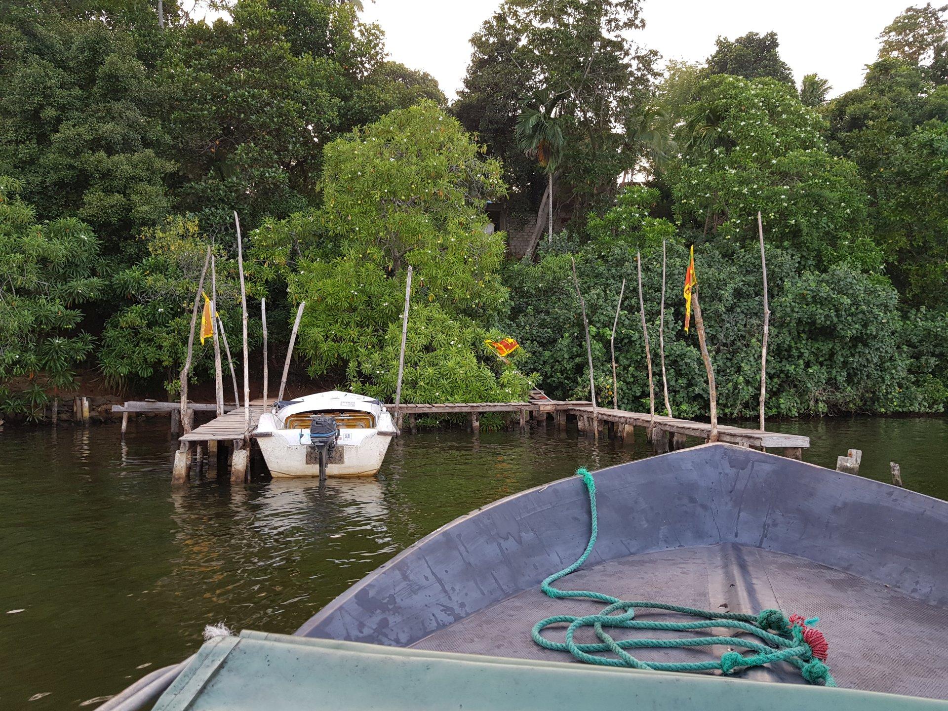 Прогулки на лодке по Шри-Ланке