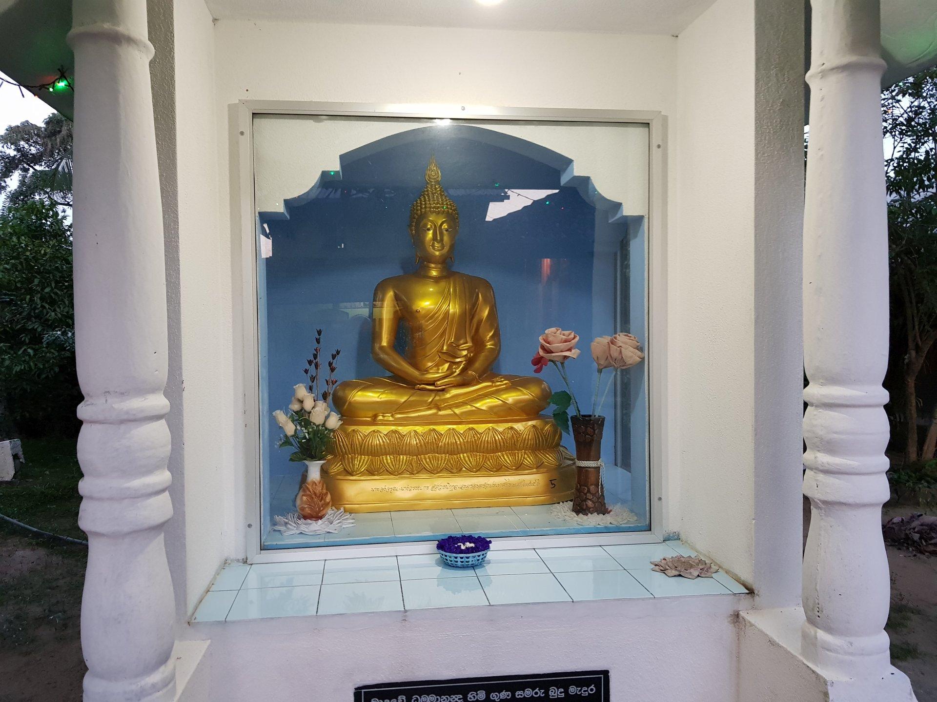 Буддийский храм, Хиккадува, Шри-Ланка