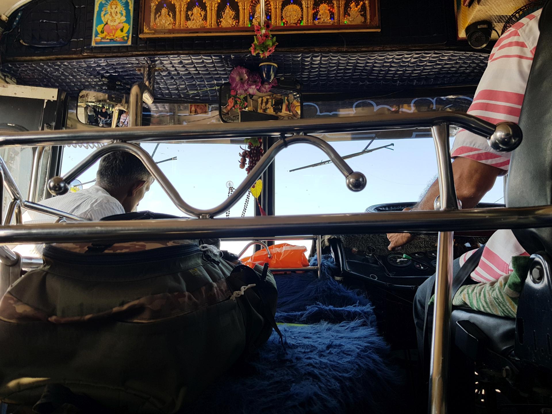 Автобус в Шри-Ланке