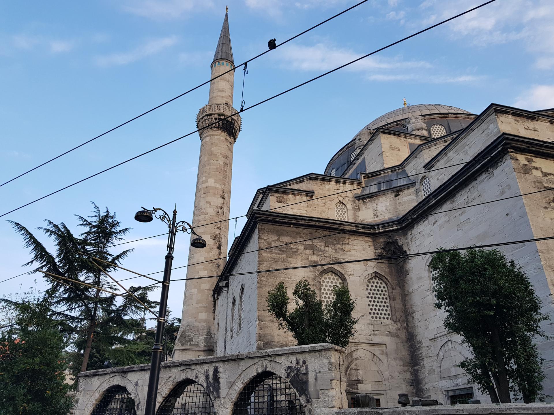 Минарет мечети, Стамбул