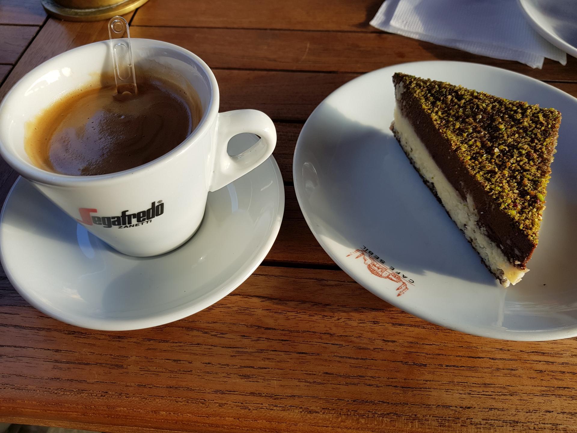 кофе и пирожное, Стамбул