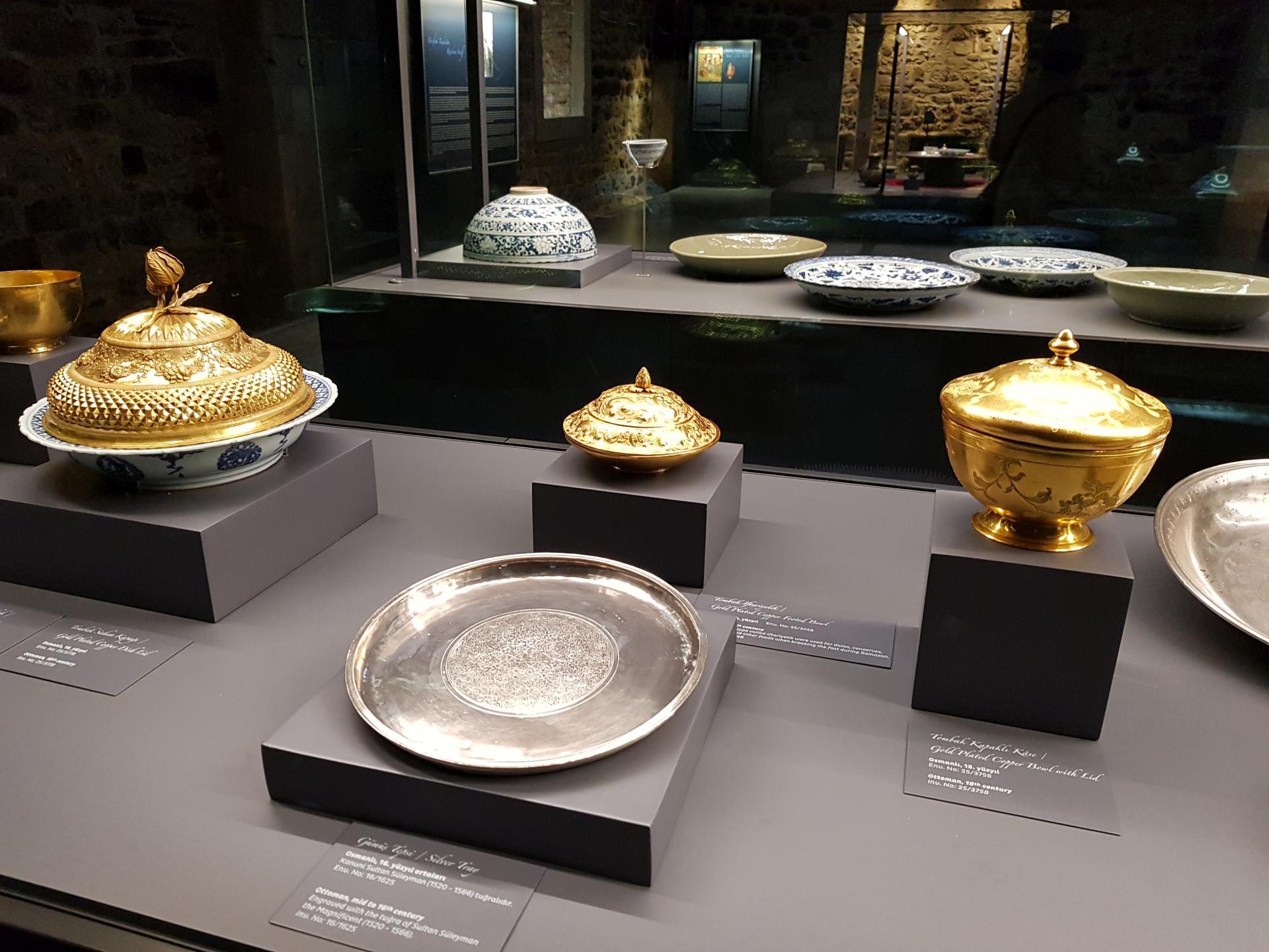 Кухонная утварь султанов в Дворце Топкапы