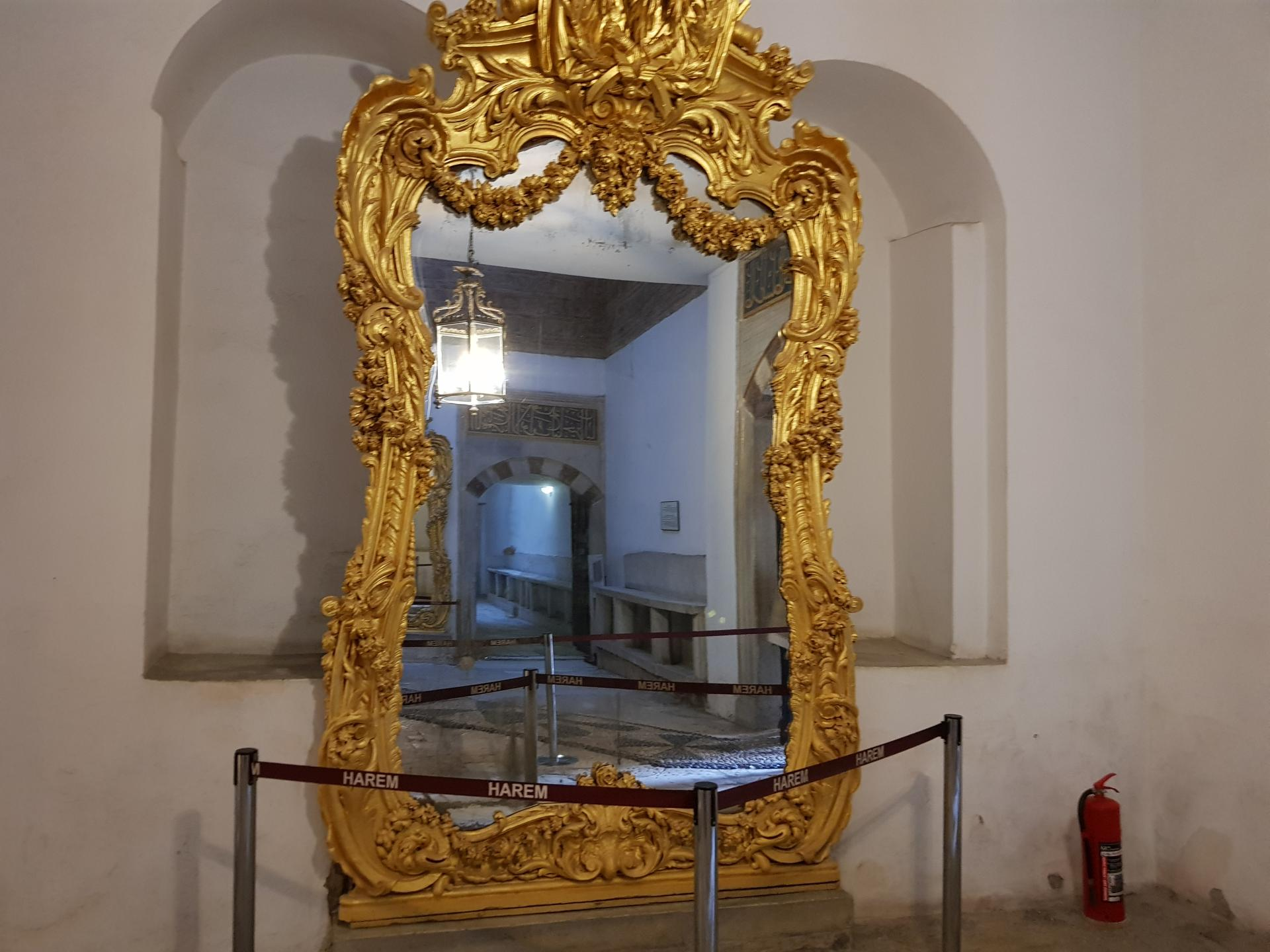 Золотое зеркало, Гарем Топкапы