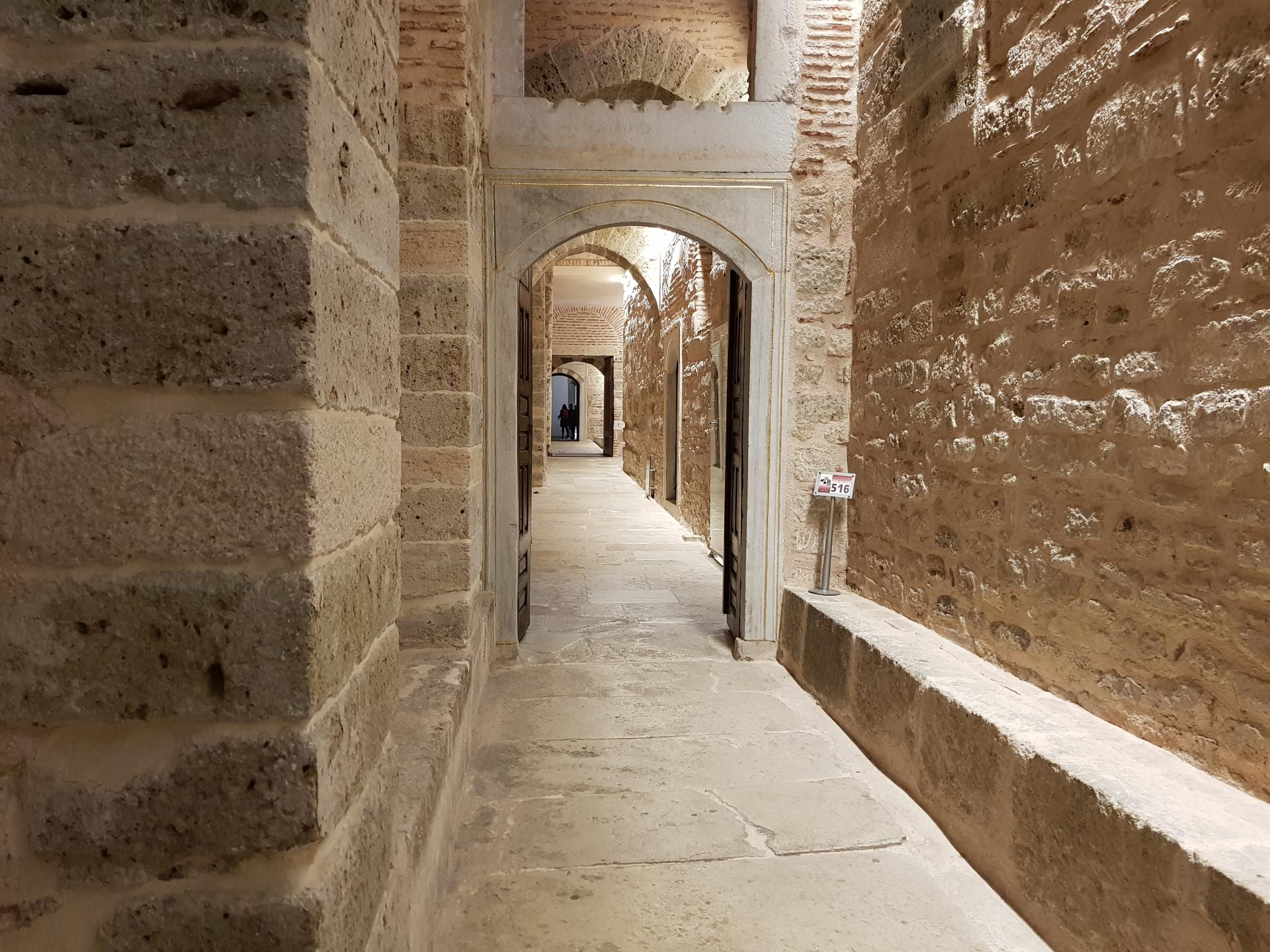 Каменный коридор, Гарем Топкапы