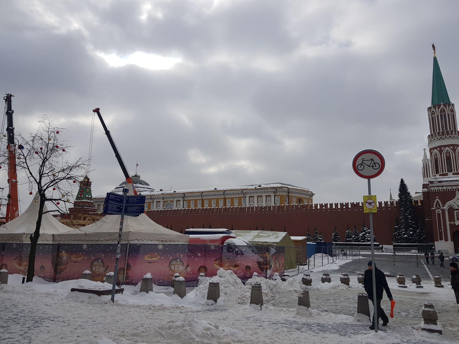 ремонт на Красной площади