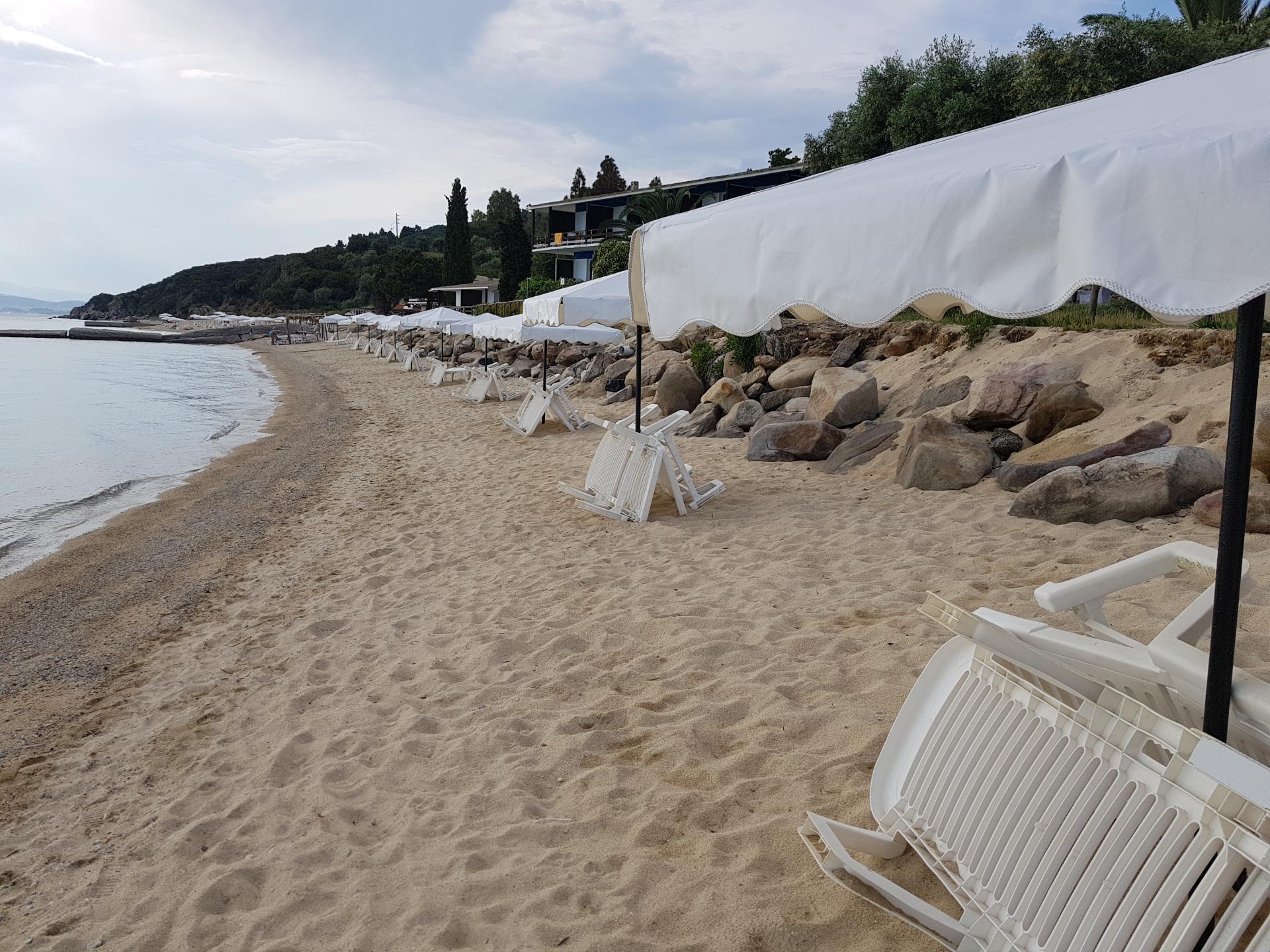 Пляж в Уранополисе