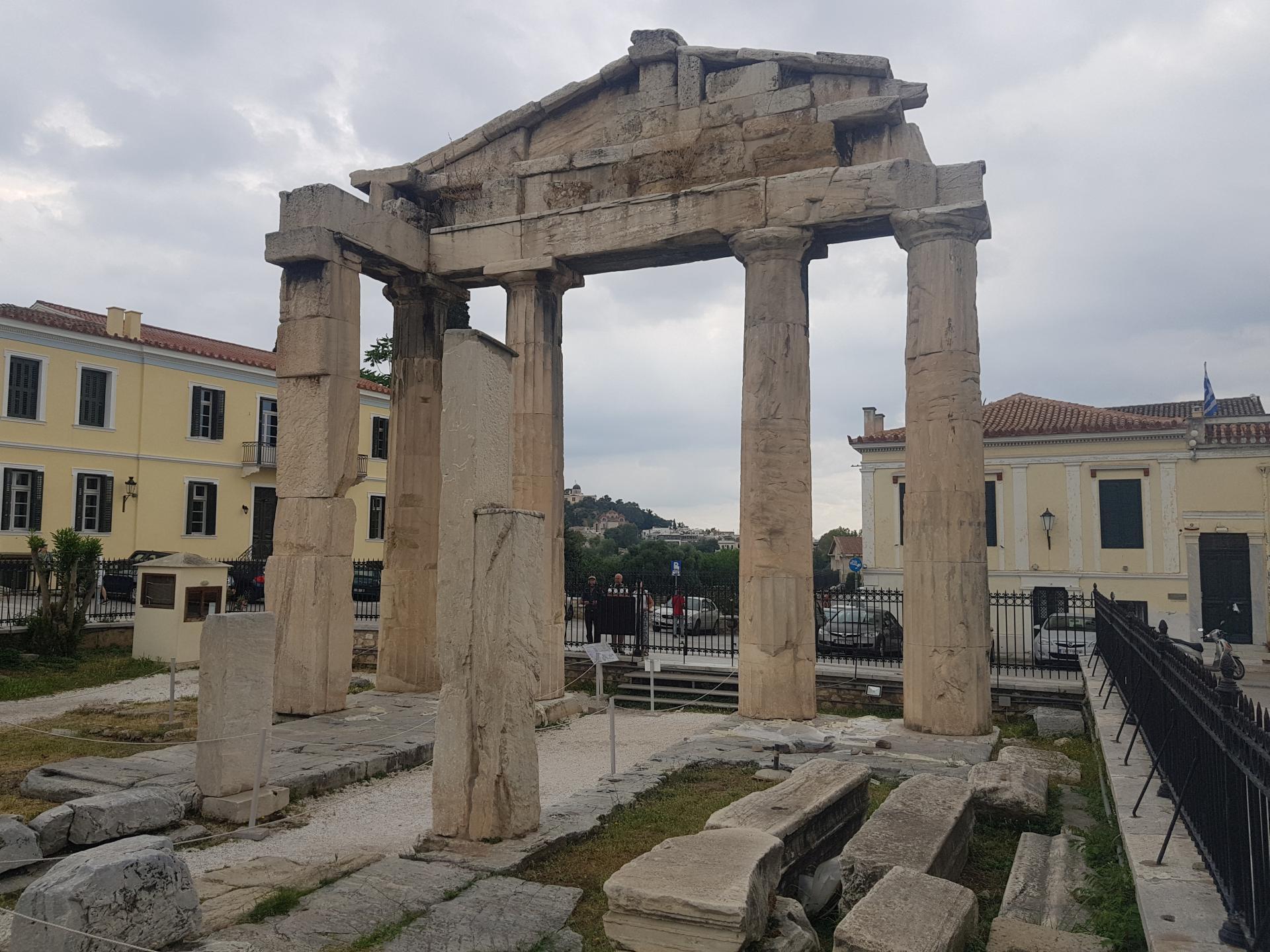 Развалины в Афинах