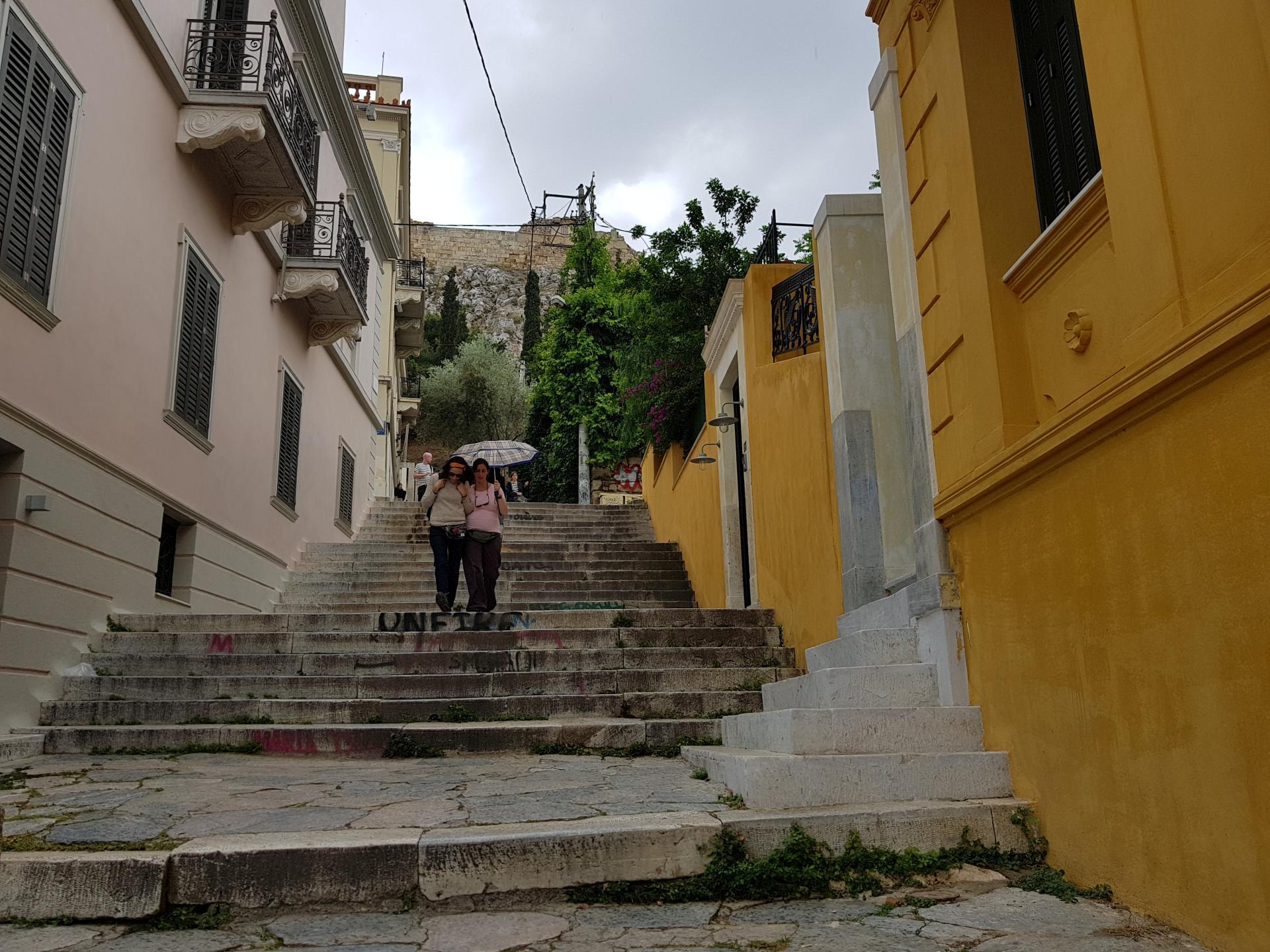 ступени к Акрополю