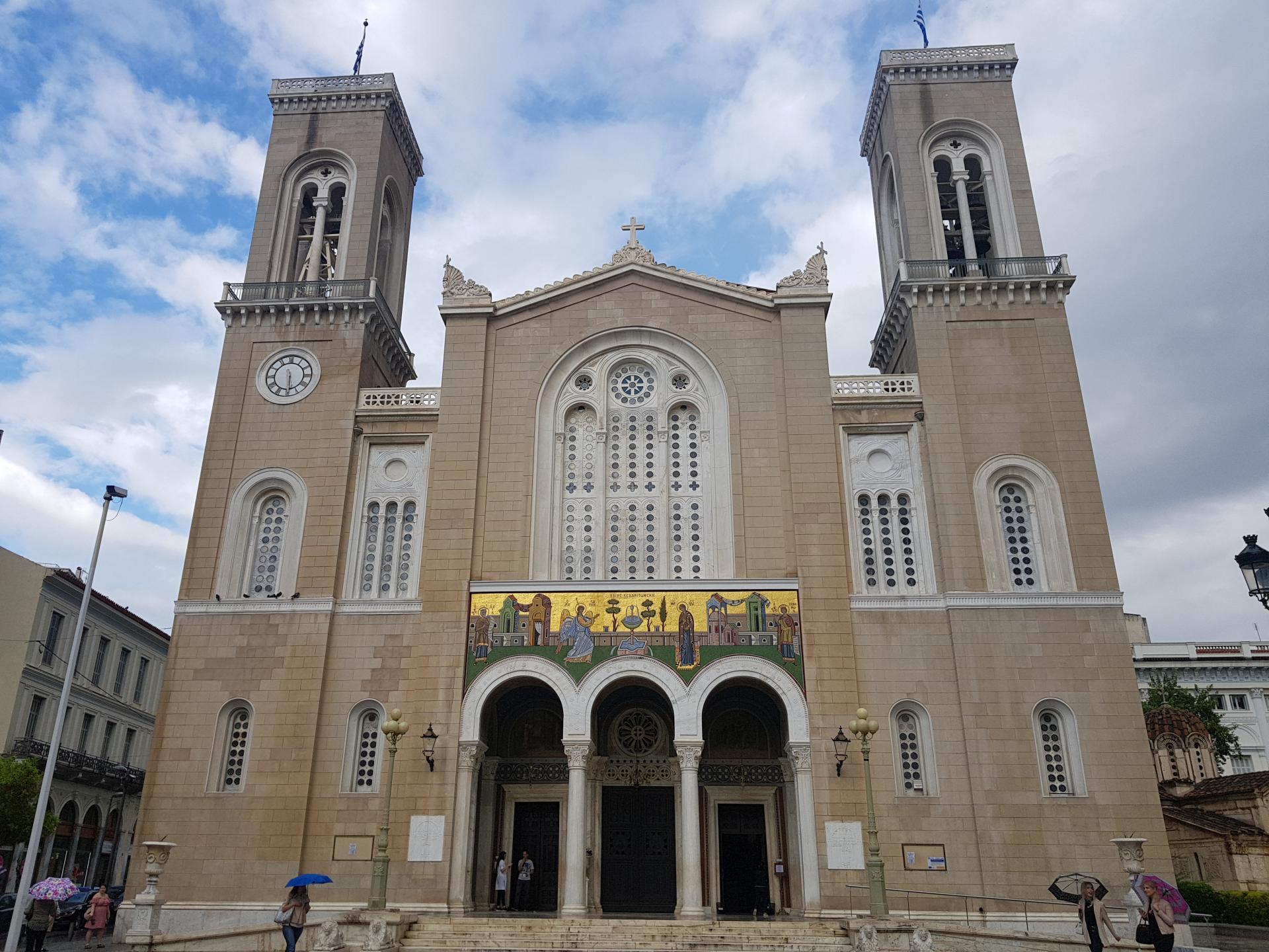 Православный храм в Греции