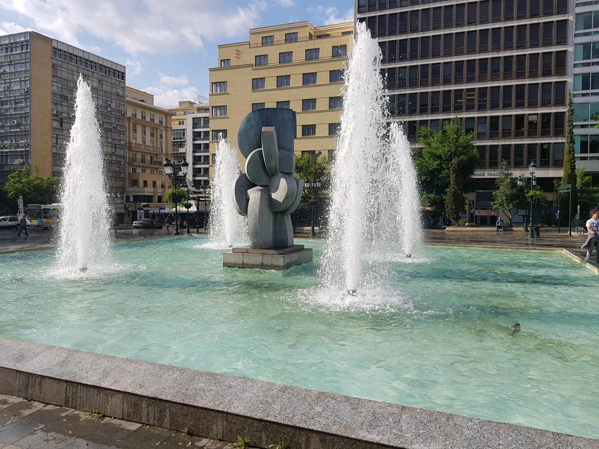 фонтан в Афинах