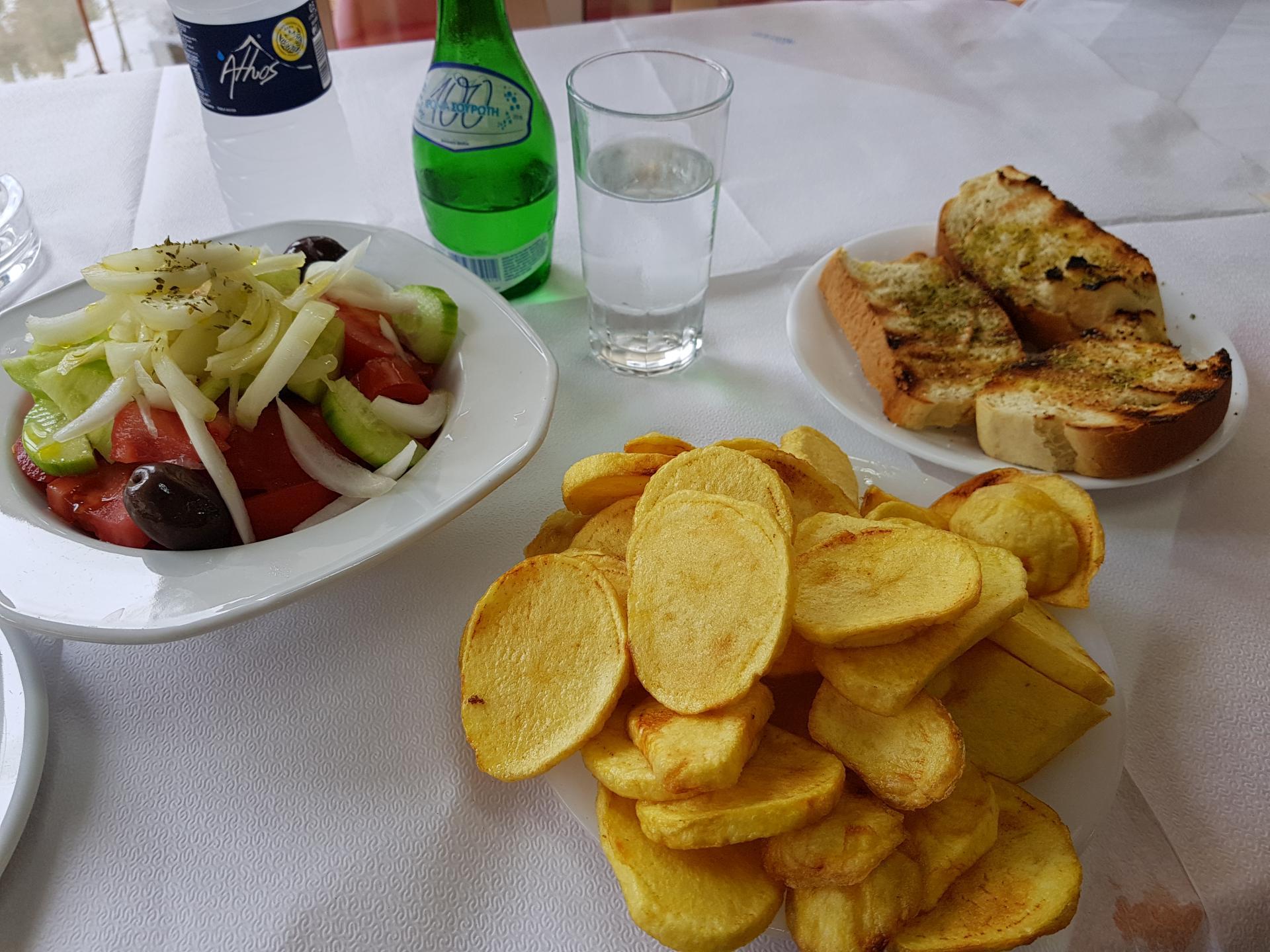 еда в греческой таверне