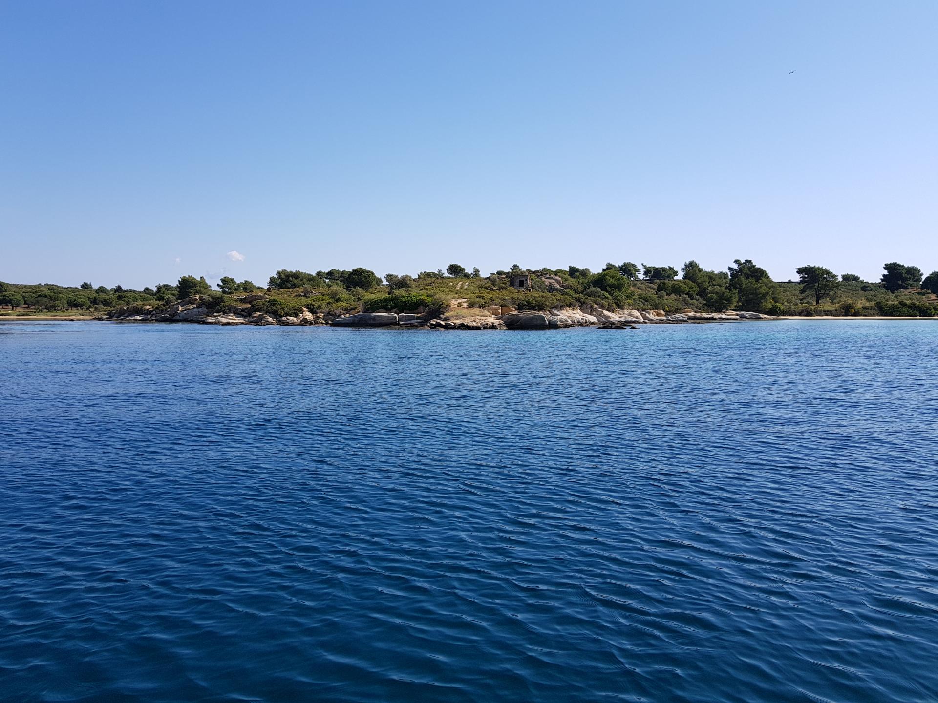 морские прогулки в Греции