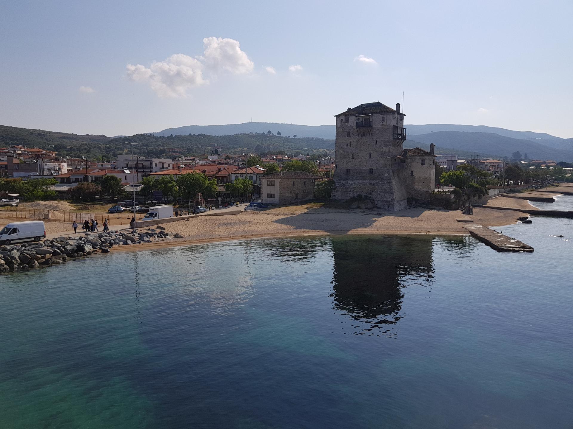 вид на порт Уранополиса