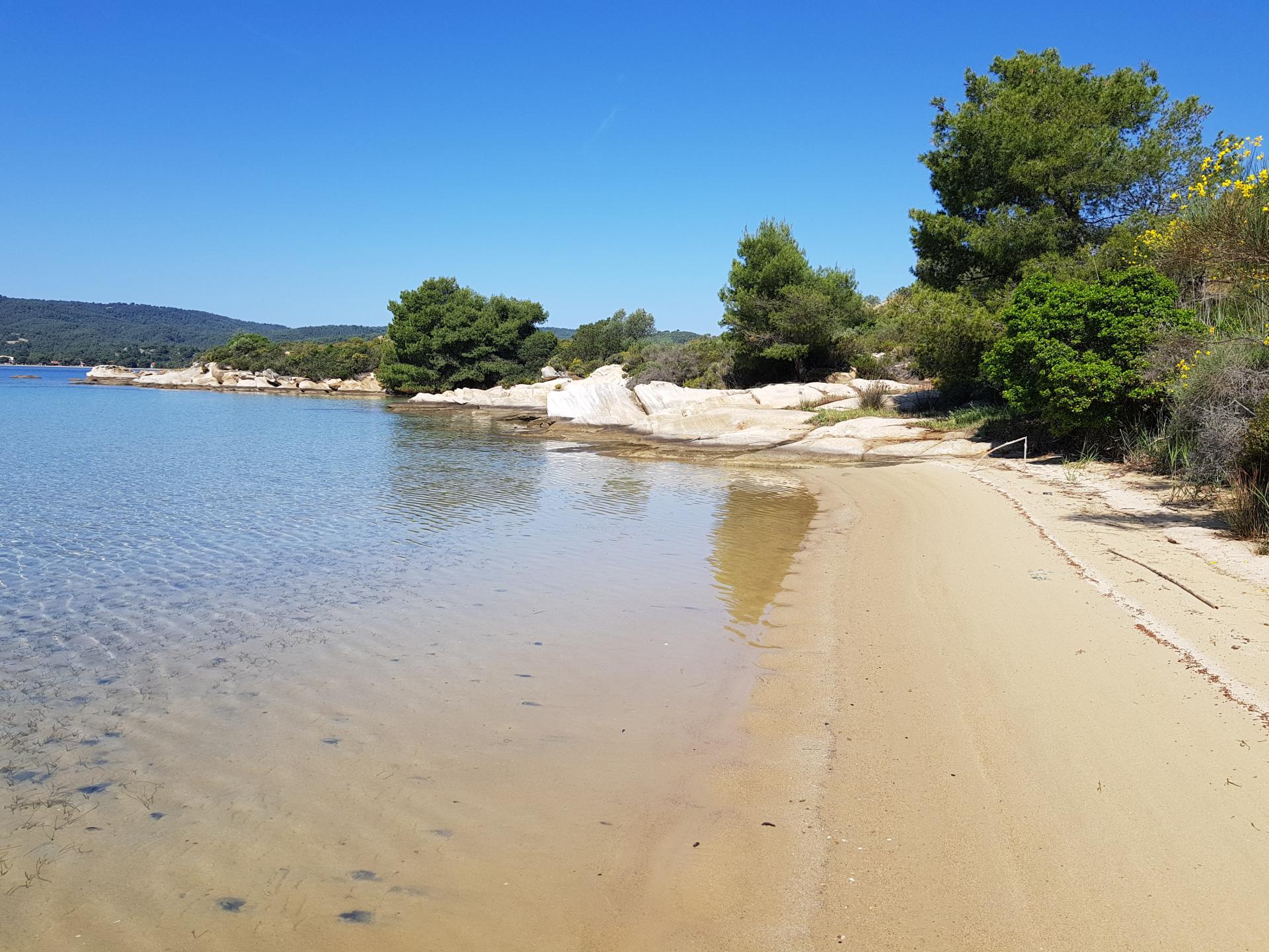 дикий пляж Вурвуру, Греция