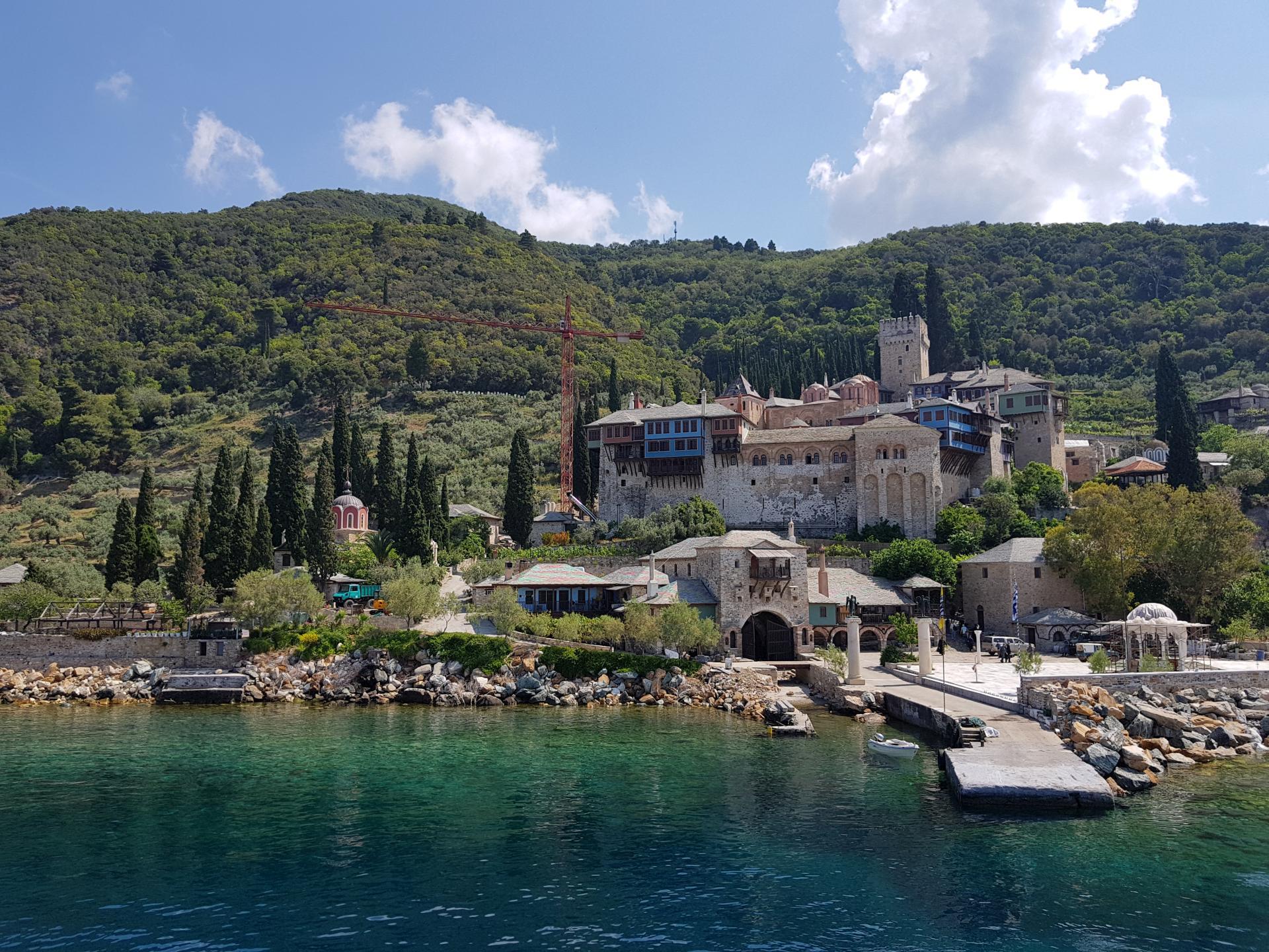 монастырь Ксенофонт на Афоне