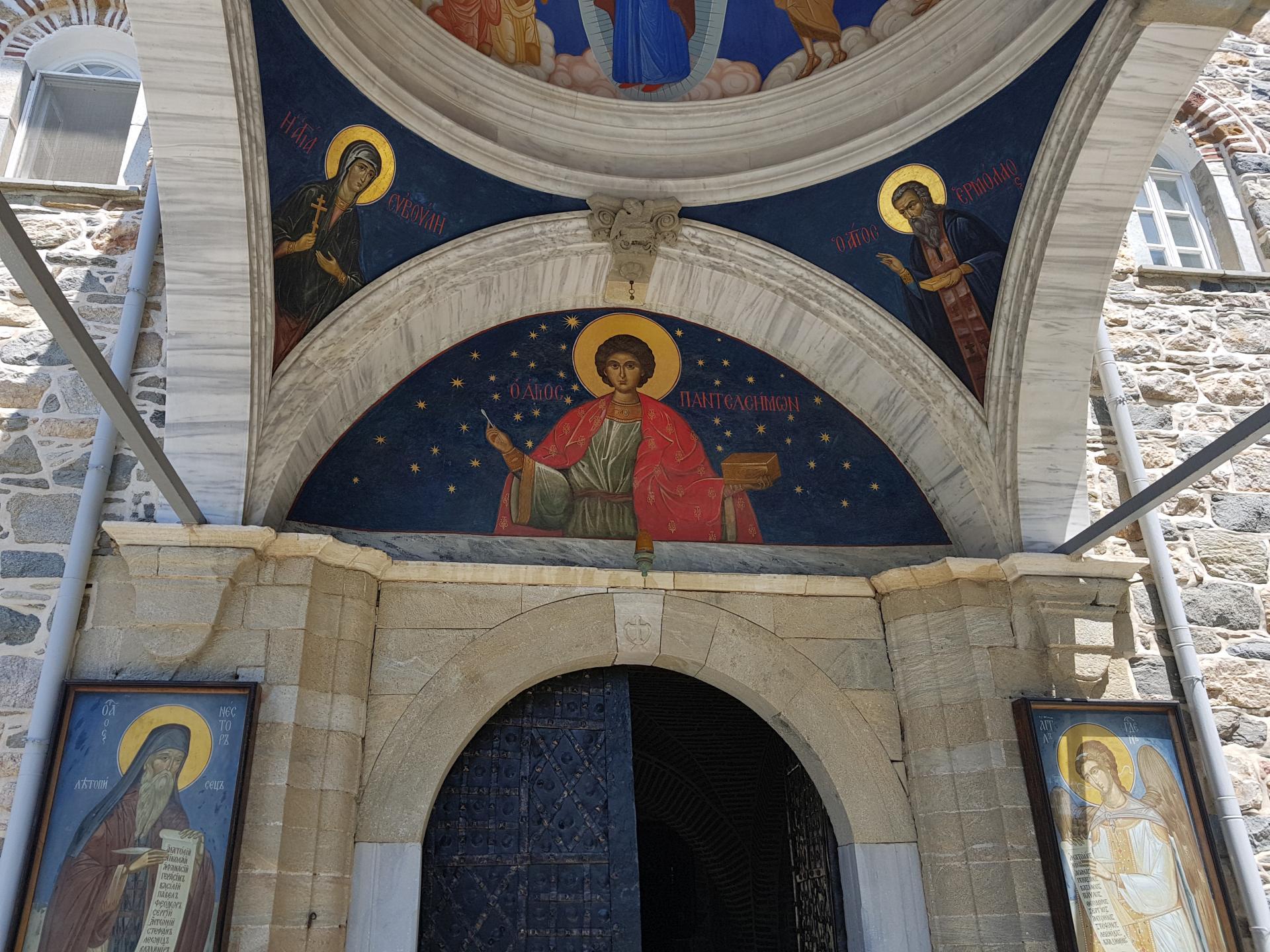Изображение святого Пантелеймона