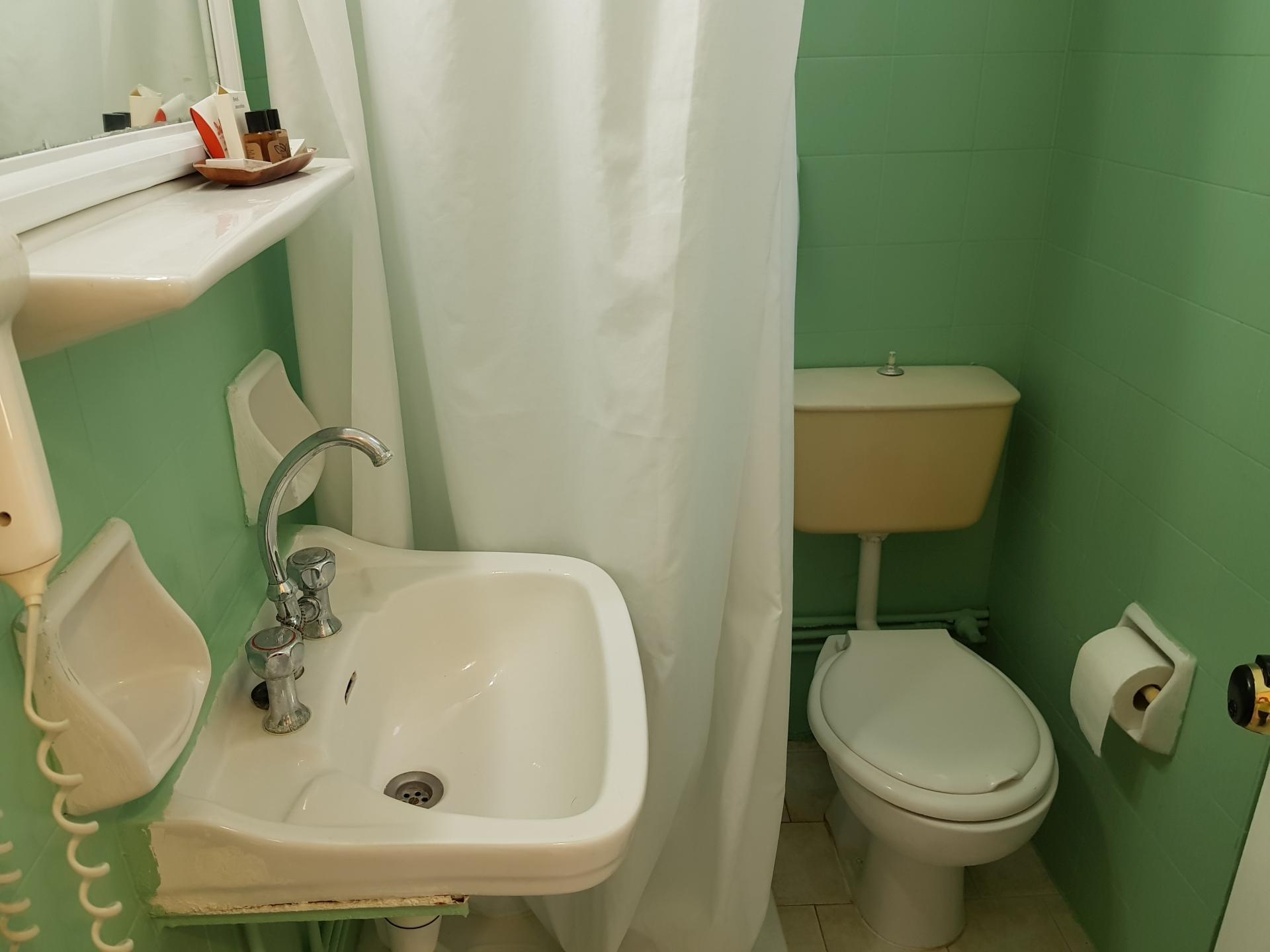 Ванная комната в отеле Dalia