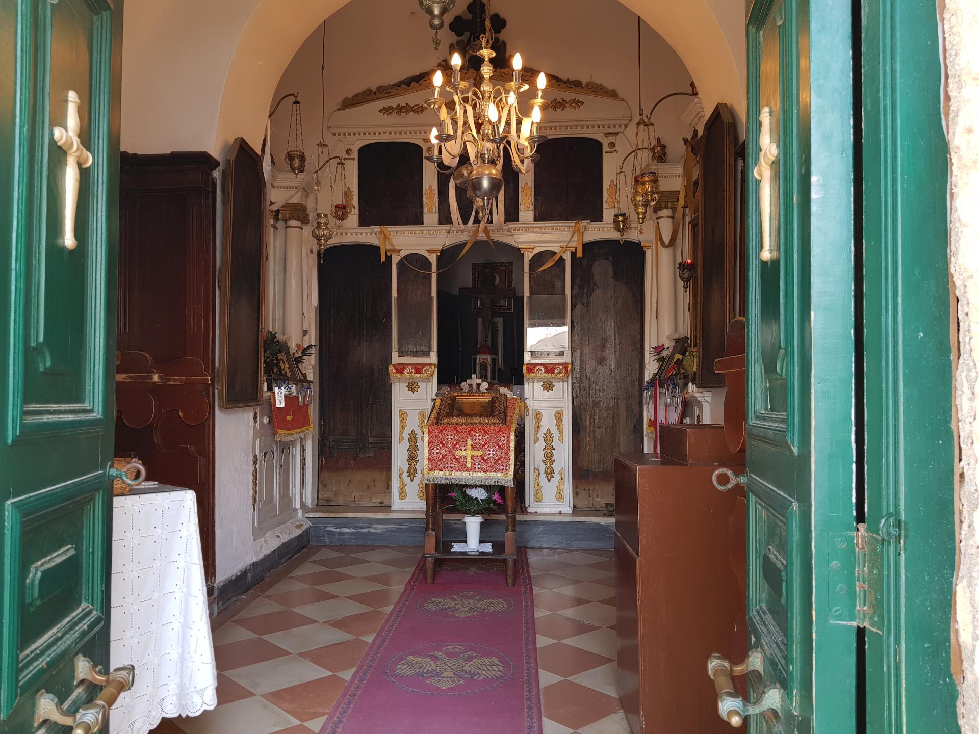 основное помещение монастыря Влахерна
