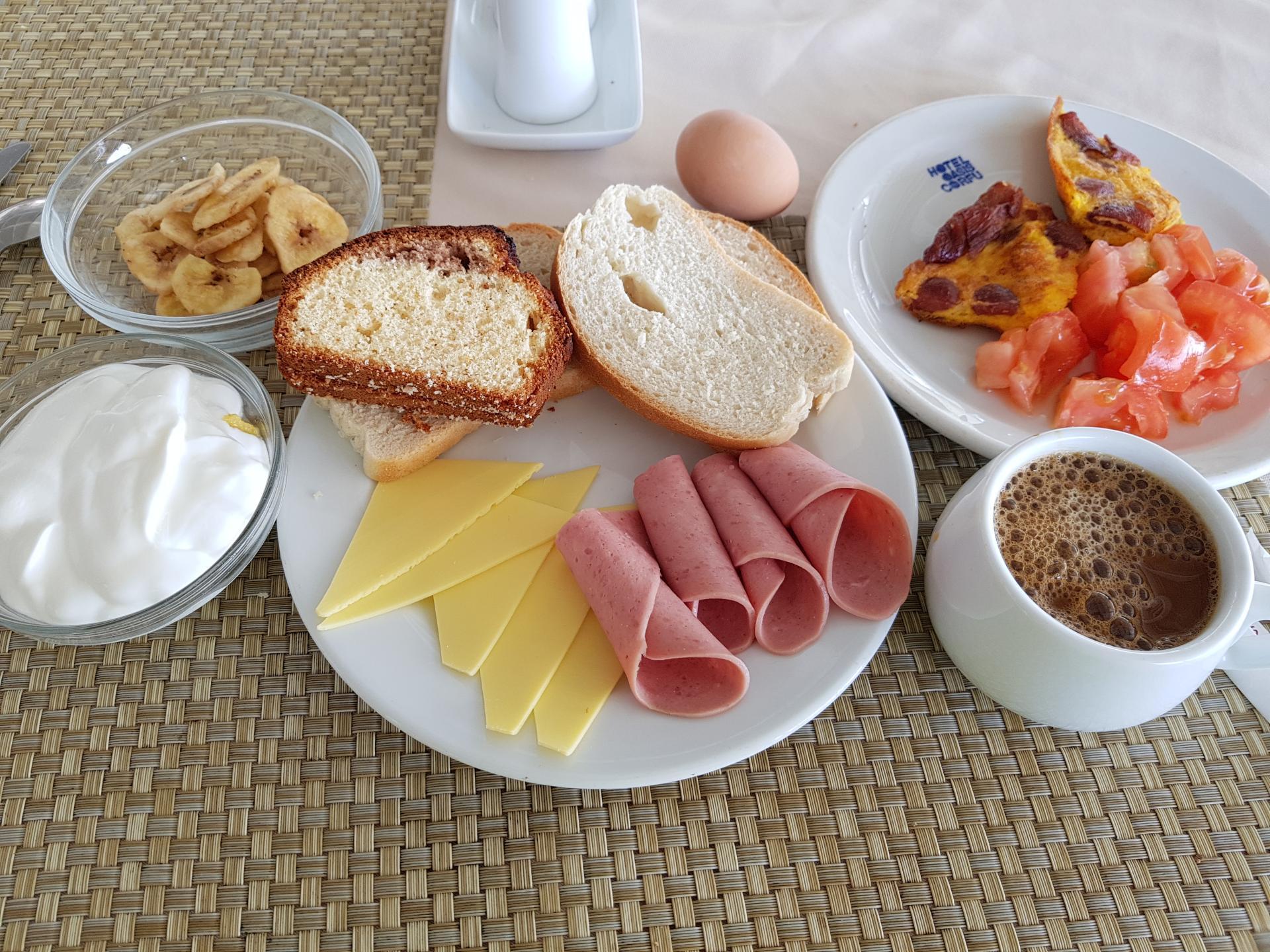 завтрак в Греции