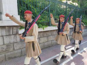 греческие эвзоны