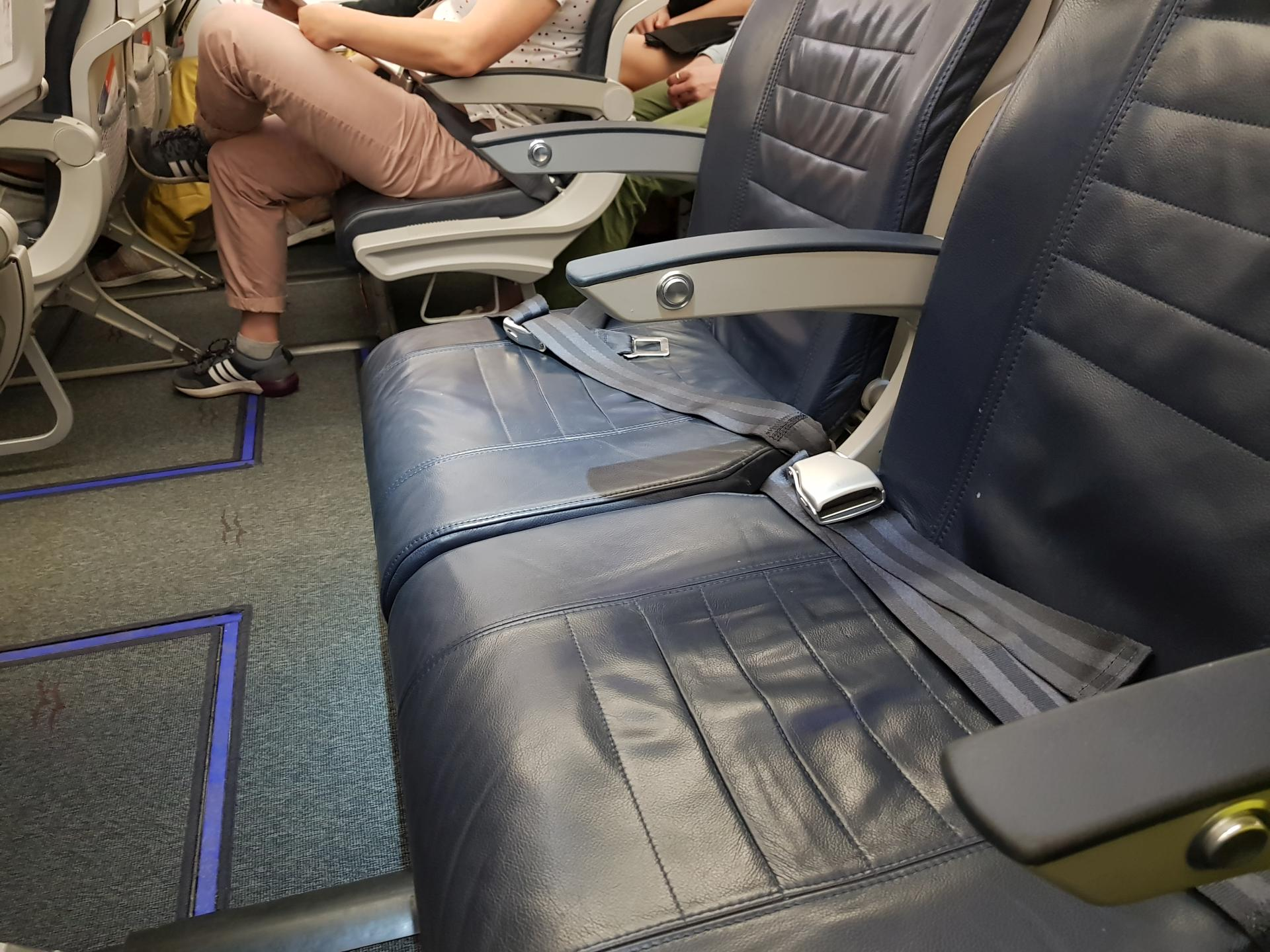 халявные места в самолете