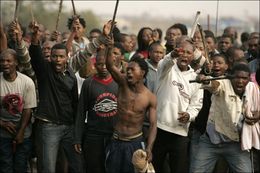 Криминал в Африке