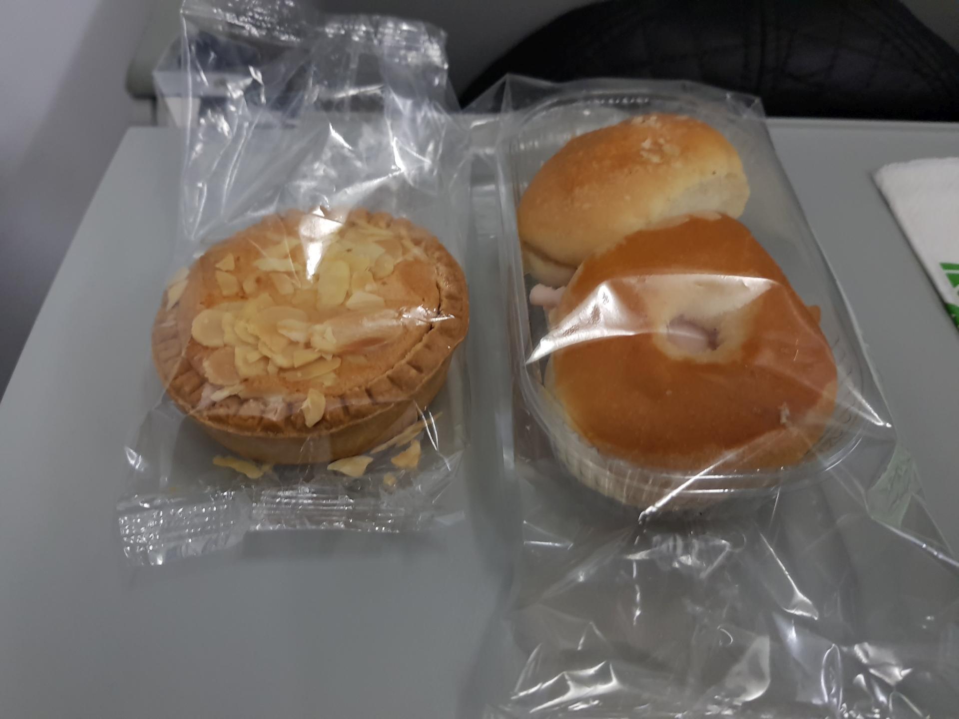 еда в самолете Alitalia
